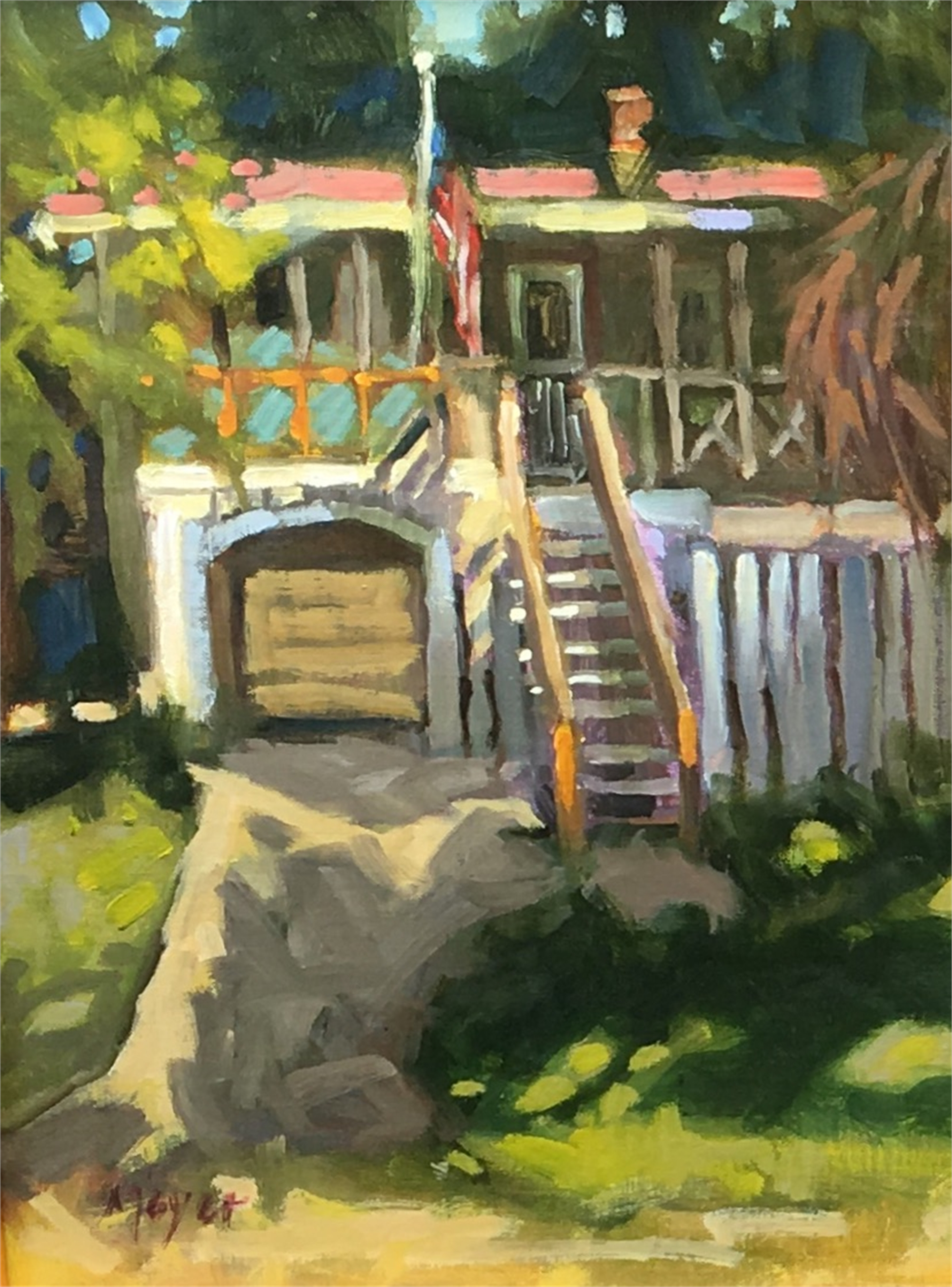 Sullivan's Cottage by Laurie Meyer