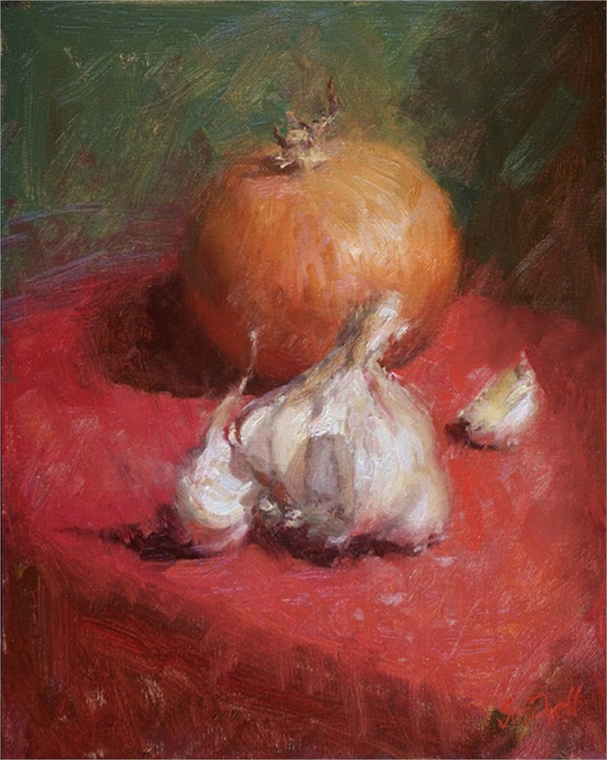 Onions and Garlic by Sue Foell, OPA