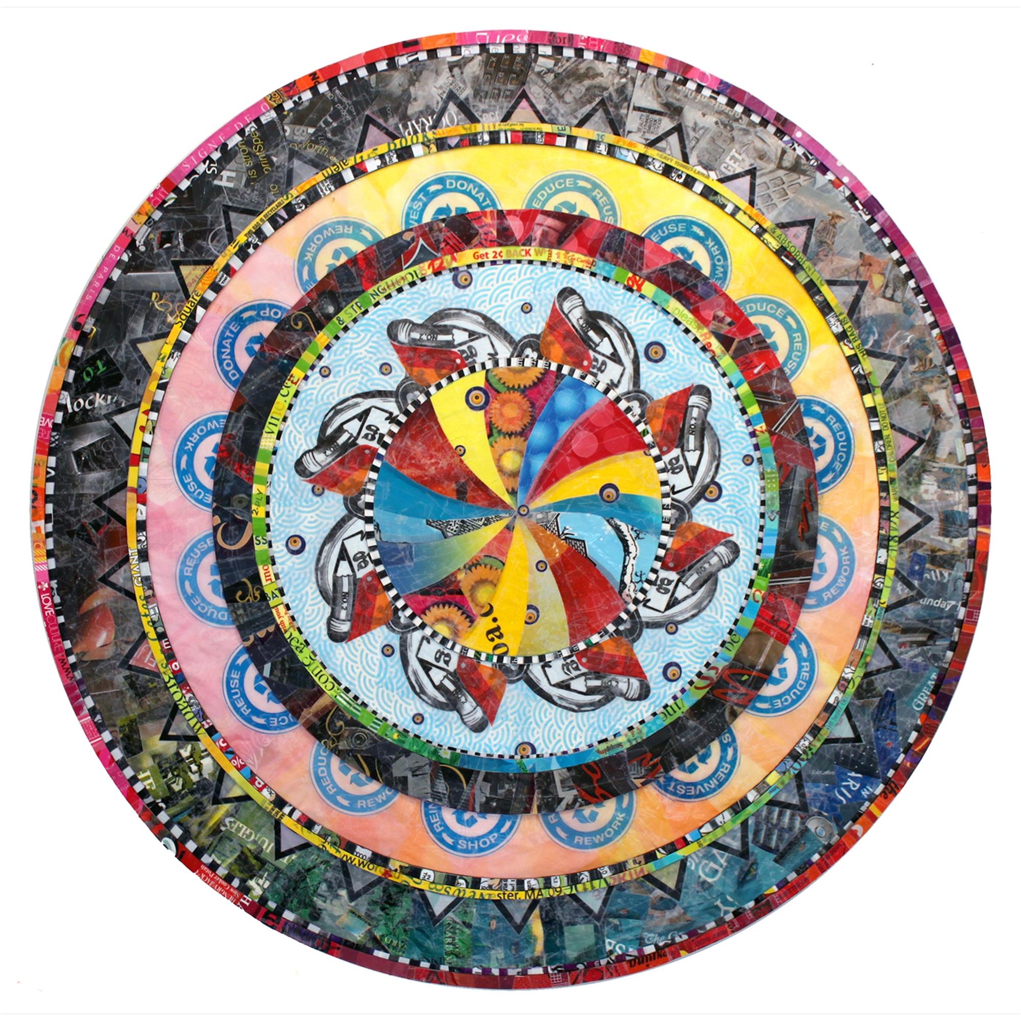 Revelation Mandala by Virginia Fleck