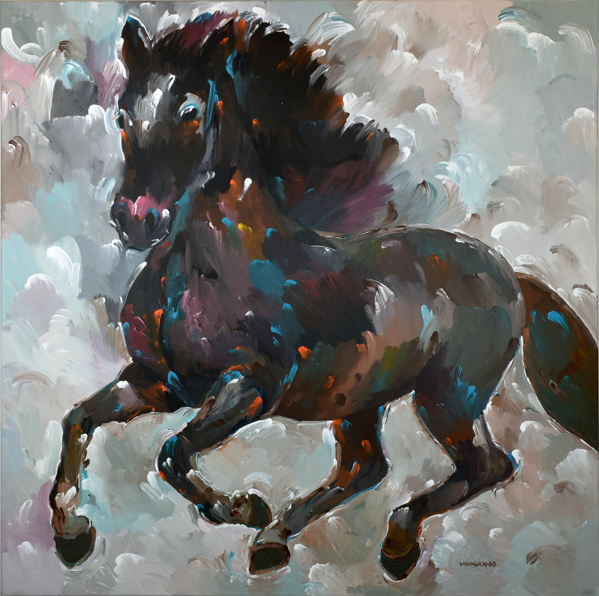 Black Thunder by Hooshang Khorasani