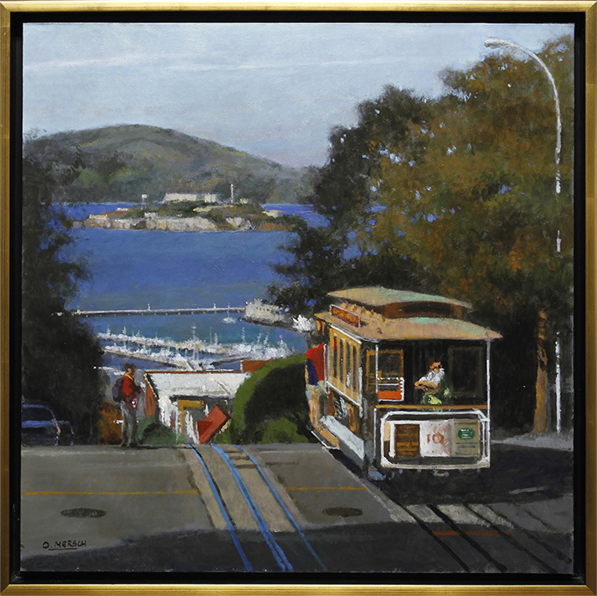 San Francisco Tramway by Oscar Mersch