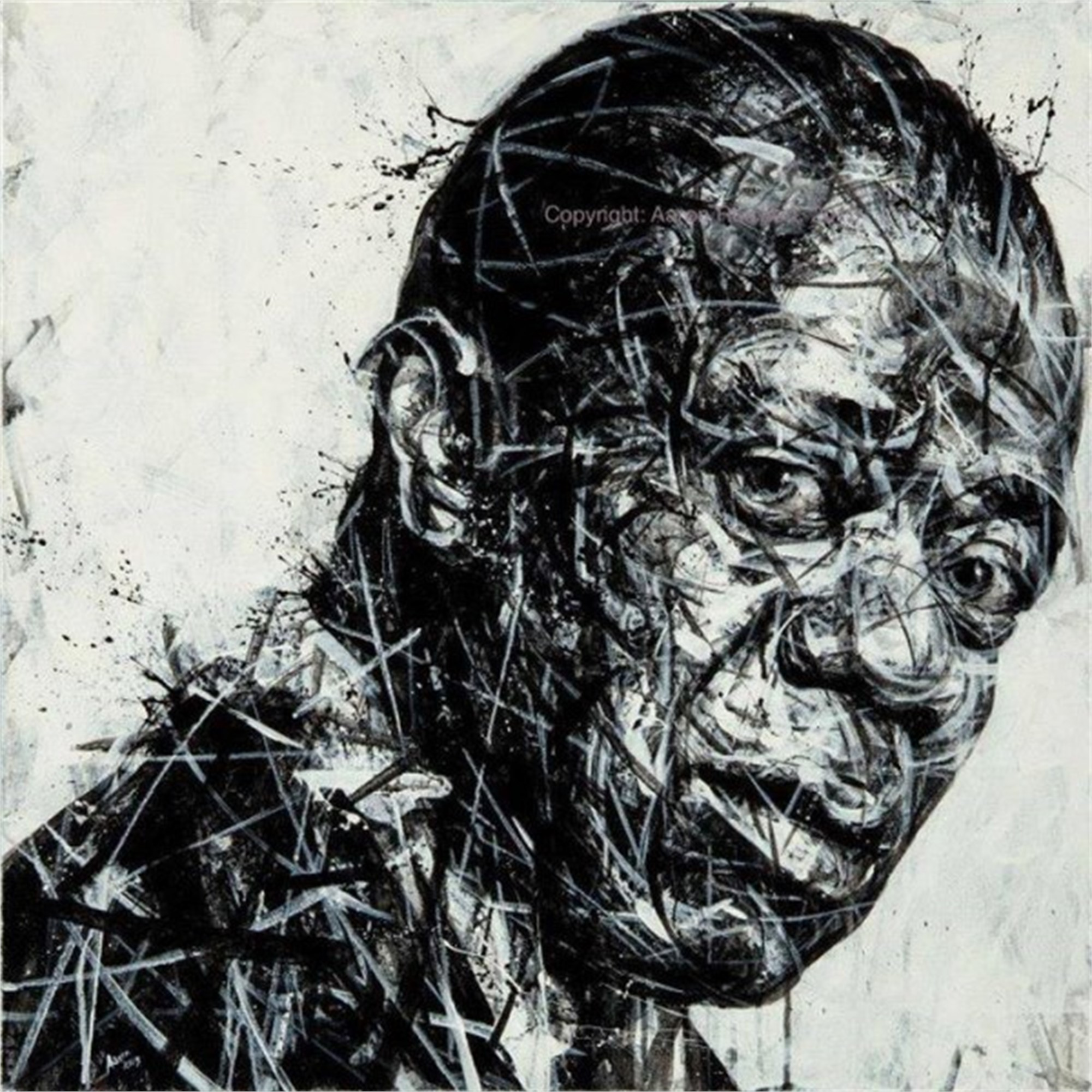 Louis Armstrong Study by Aaron Reichert