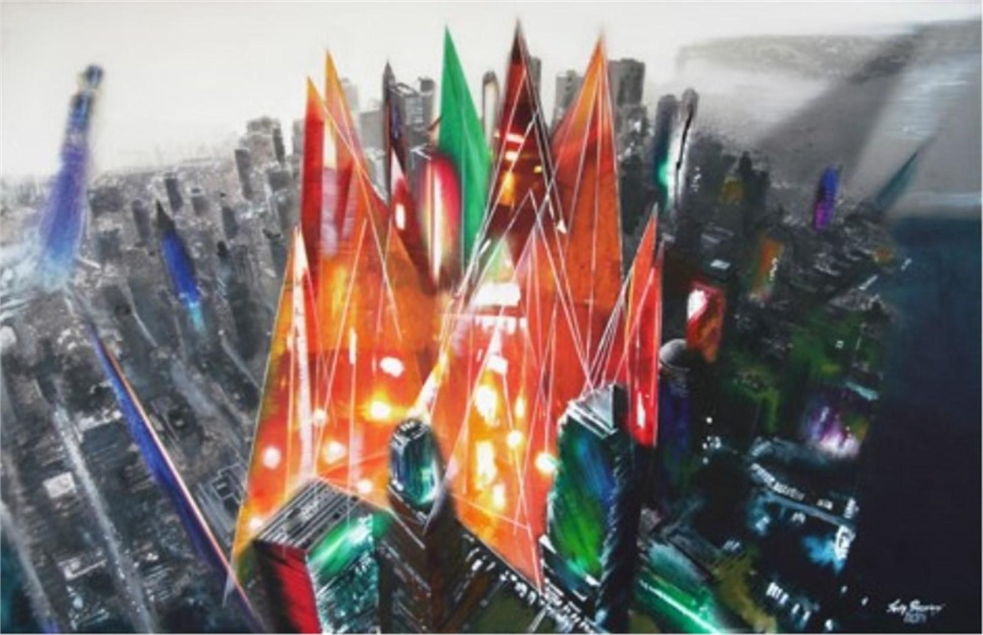 New York Axis Mundi by Lisa Borgiani