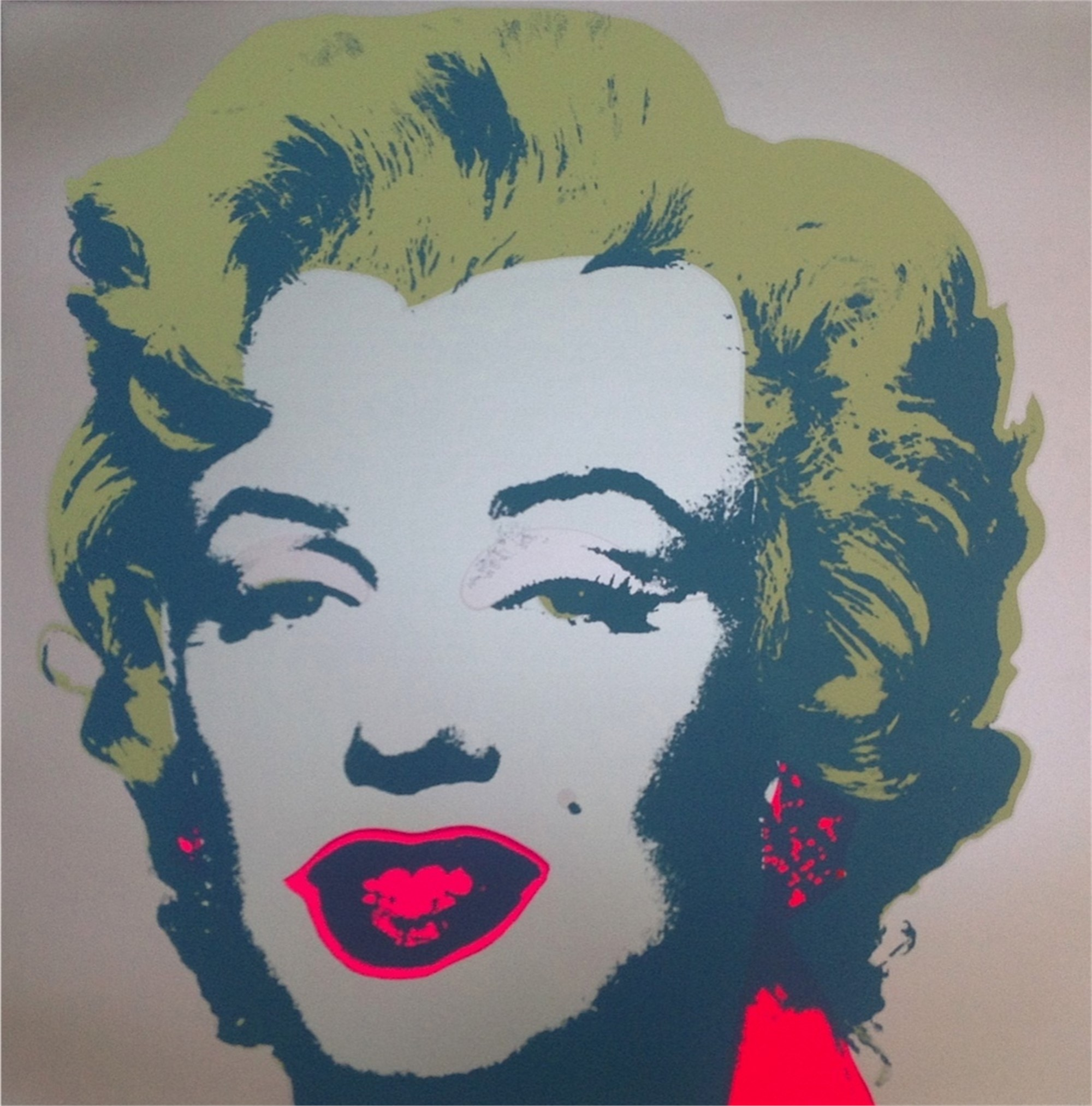 Marilyn 26 From the Sunday B. Morning Edition by Andy Warhol