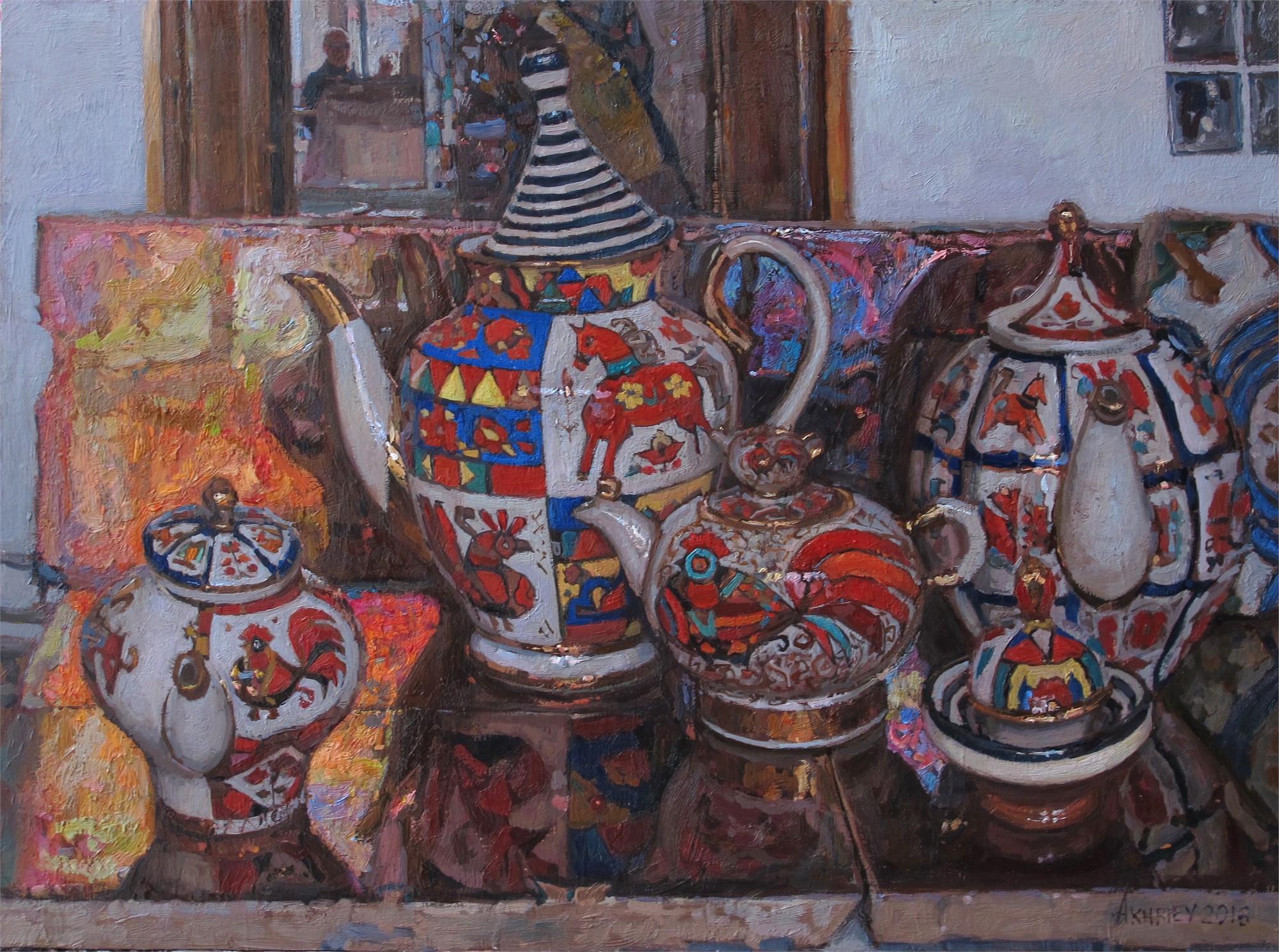 Russian Tea Party II by Daud Akhriev