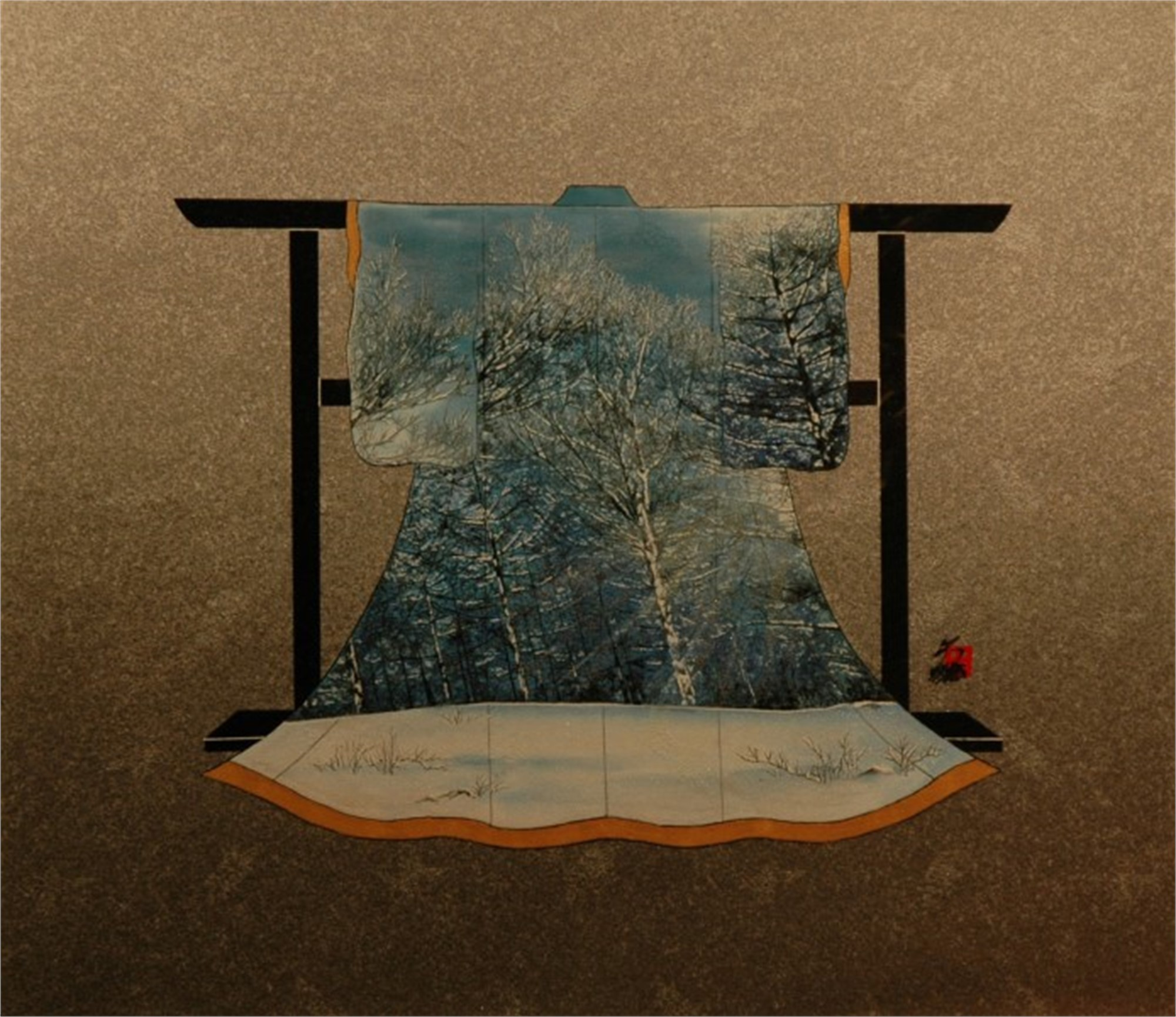 Snowy Blue by Hisashi Otsuka