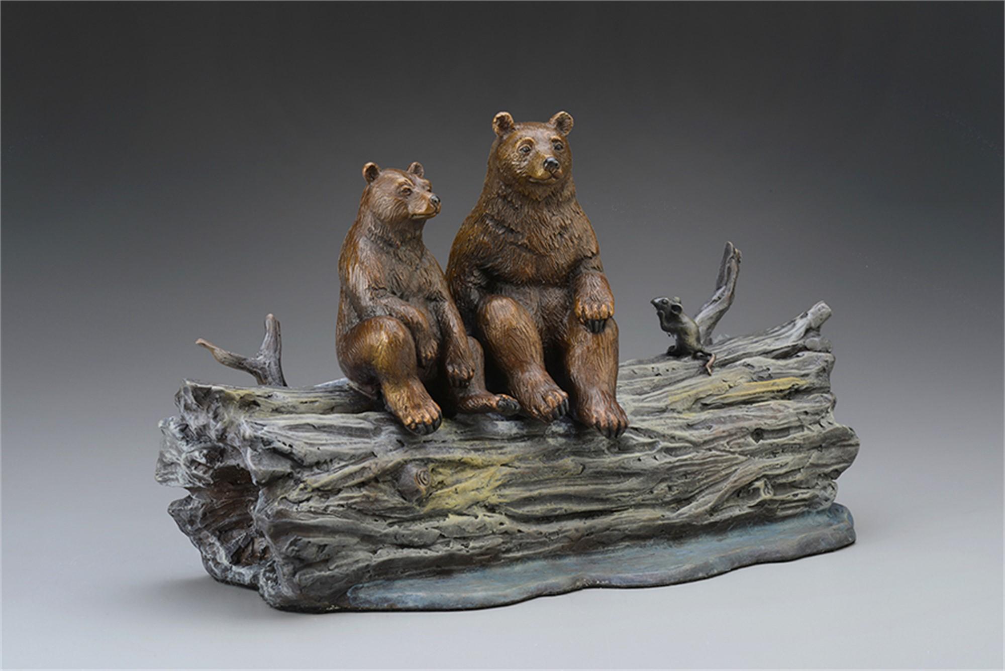 Moonlighters (Sculpture) by Robert Bissell