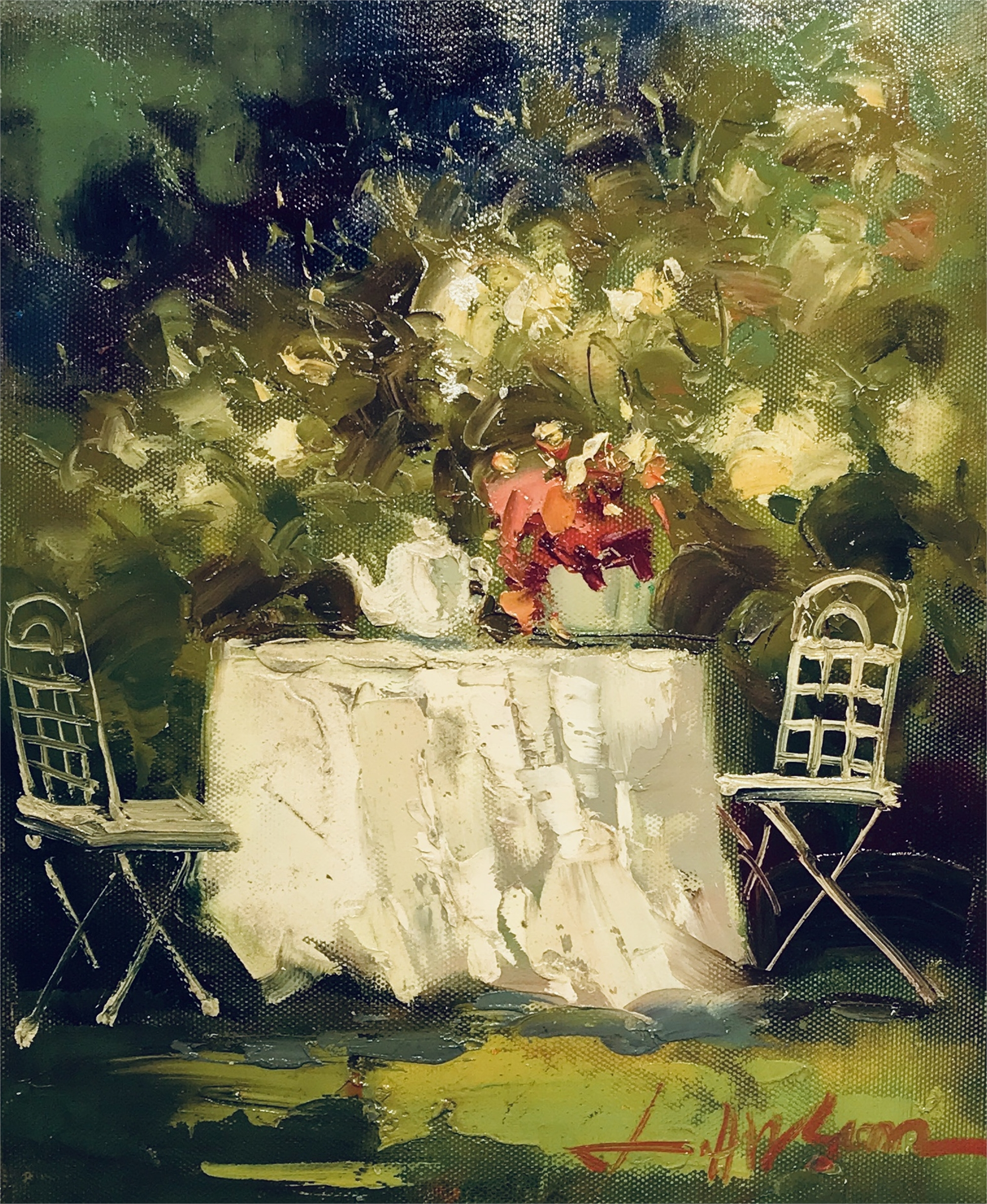 TEA IN THE GARDEN by VARIOUS WORKS