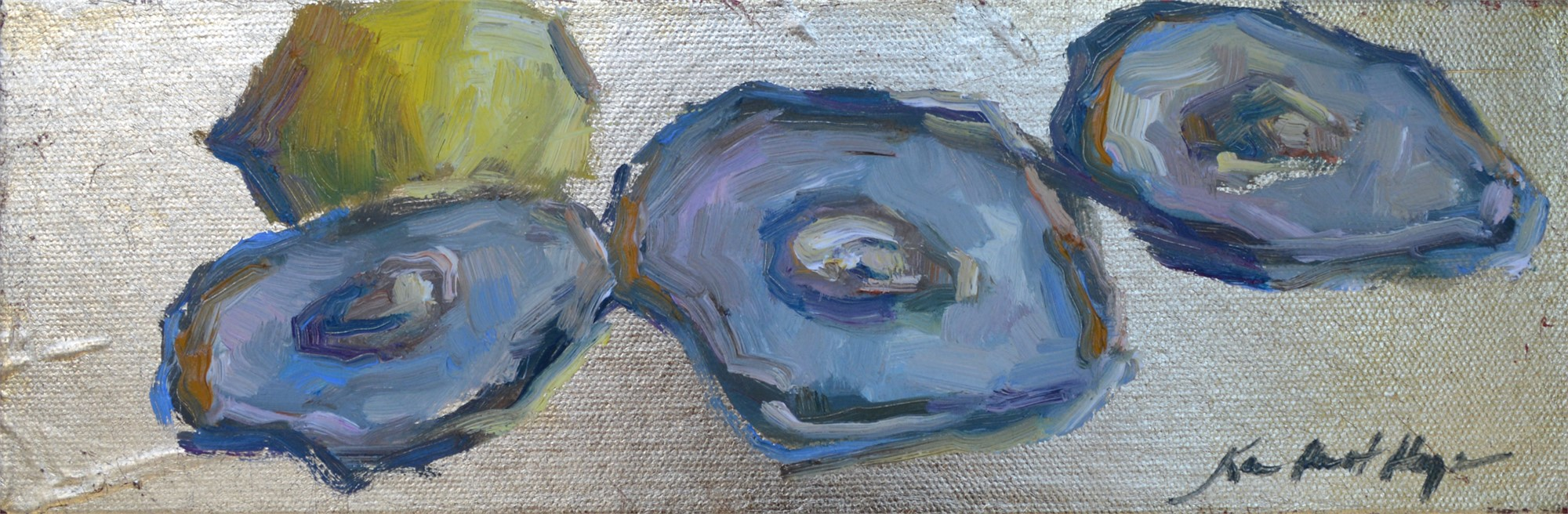 Lowcountry Oysters and One Lemon by Karen Hewitt Hagan