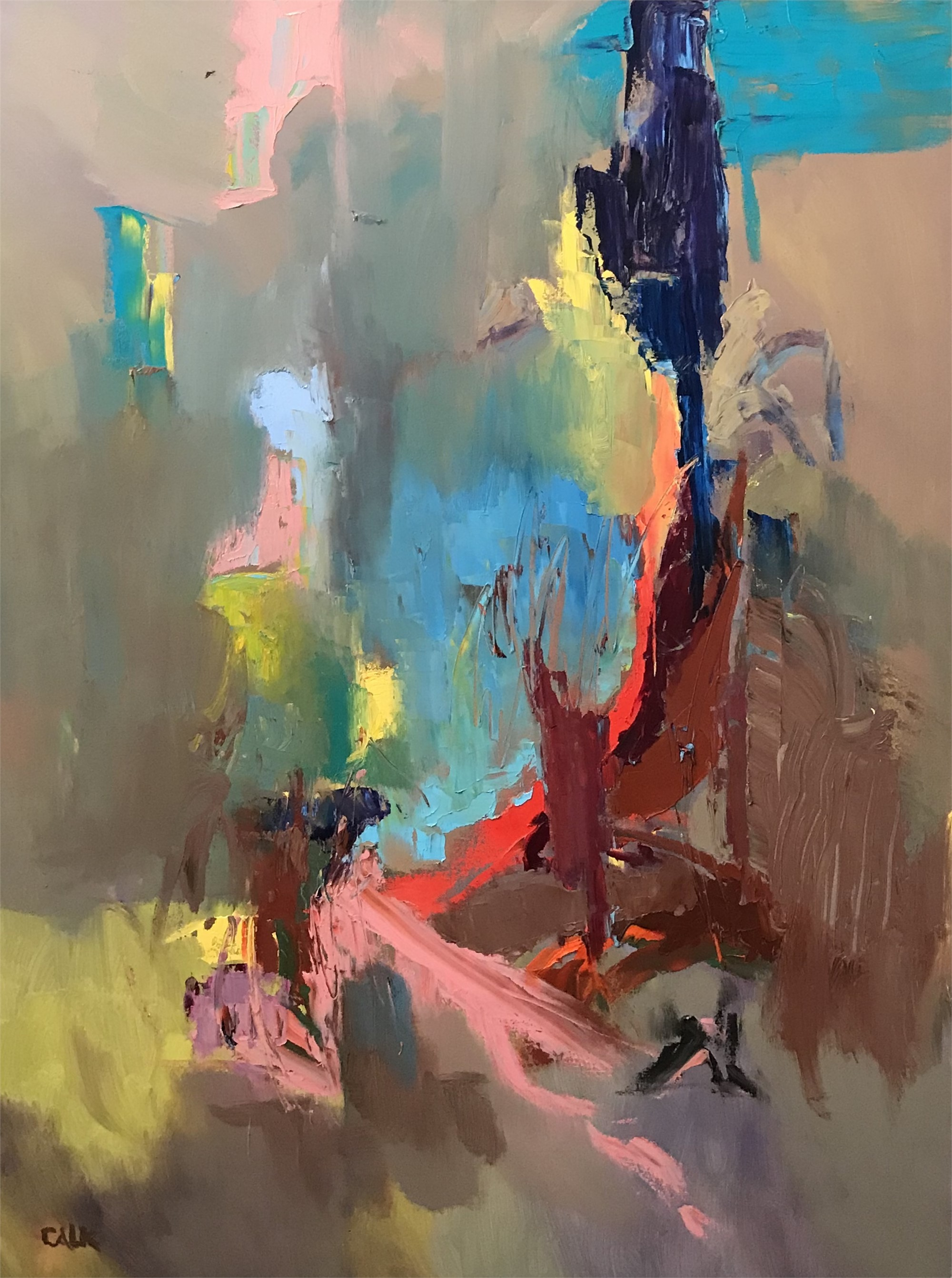 River Series II by James Calk