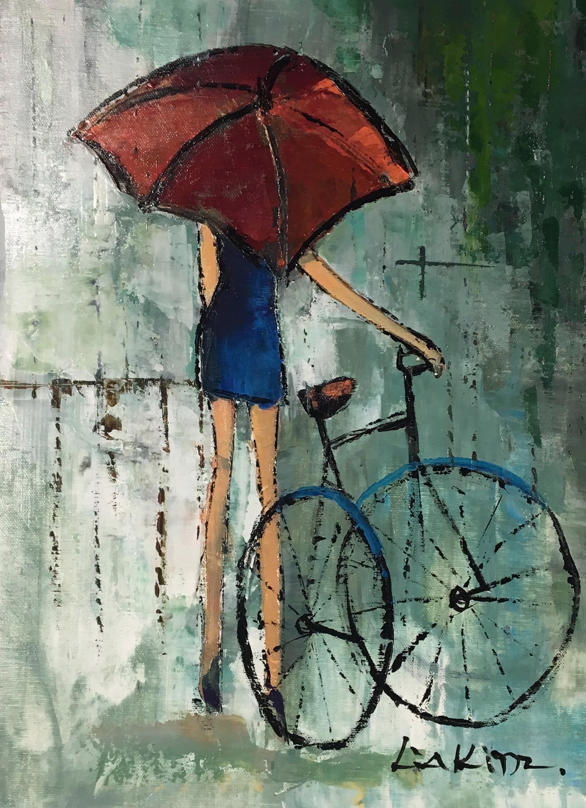 BICYCLE UMBRELLA by LIA KIM
