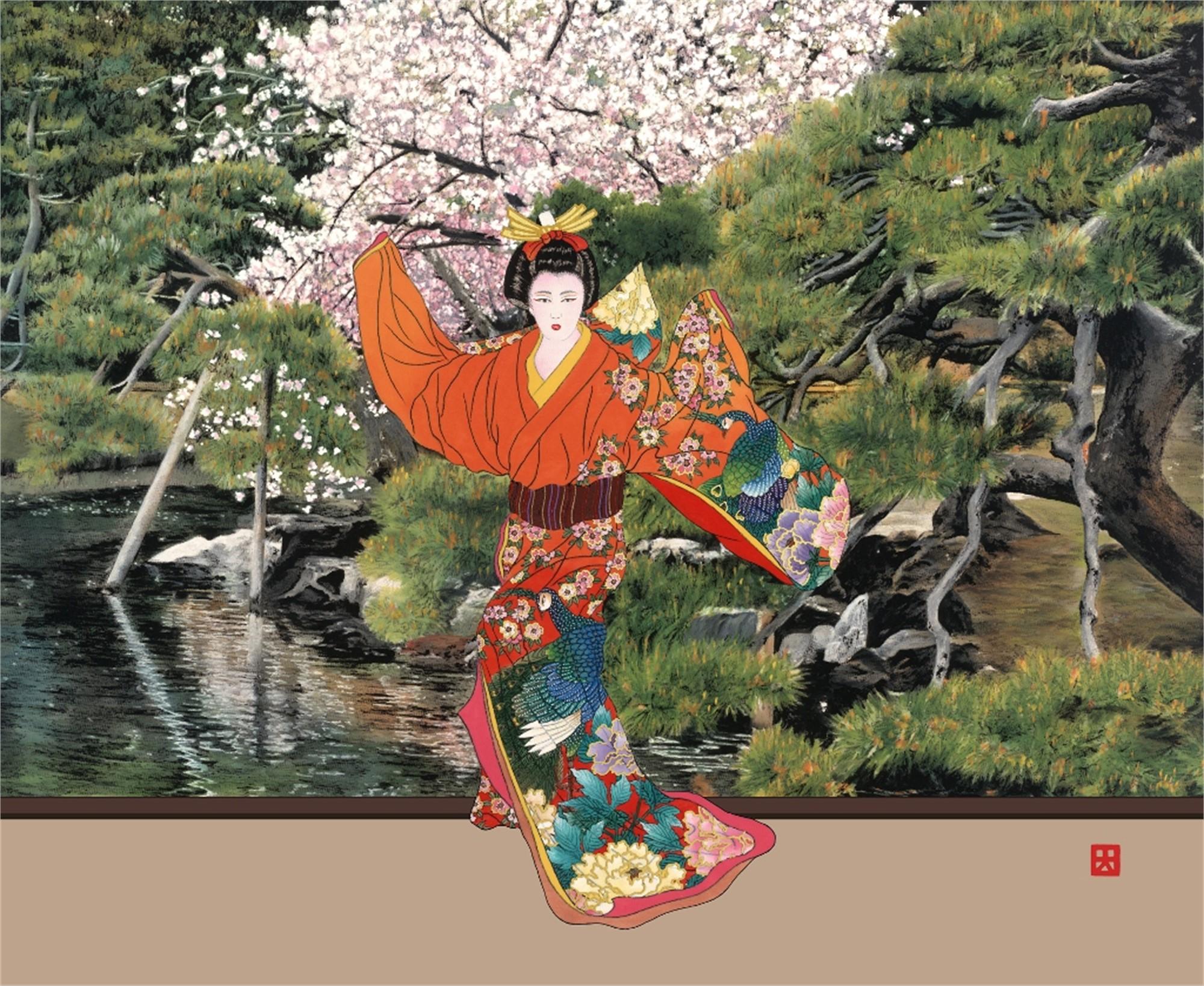 Hama Rikyu Garden (Lady Mieko, Garden Suite) by Hisashi Otsuka