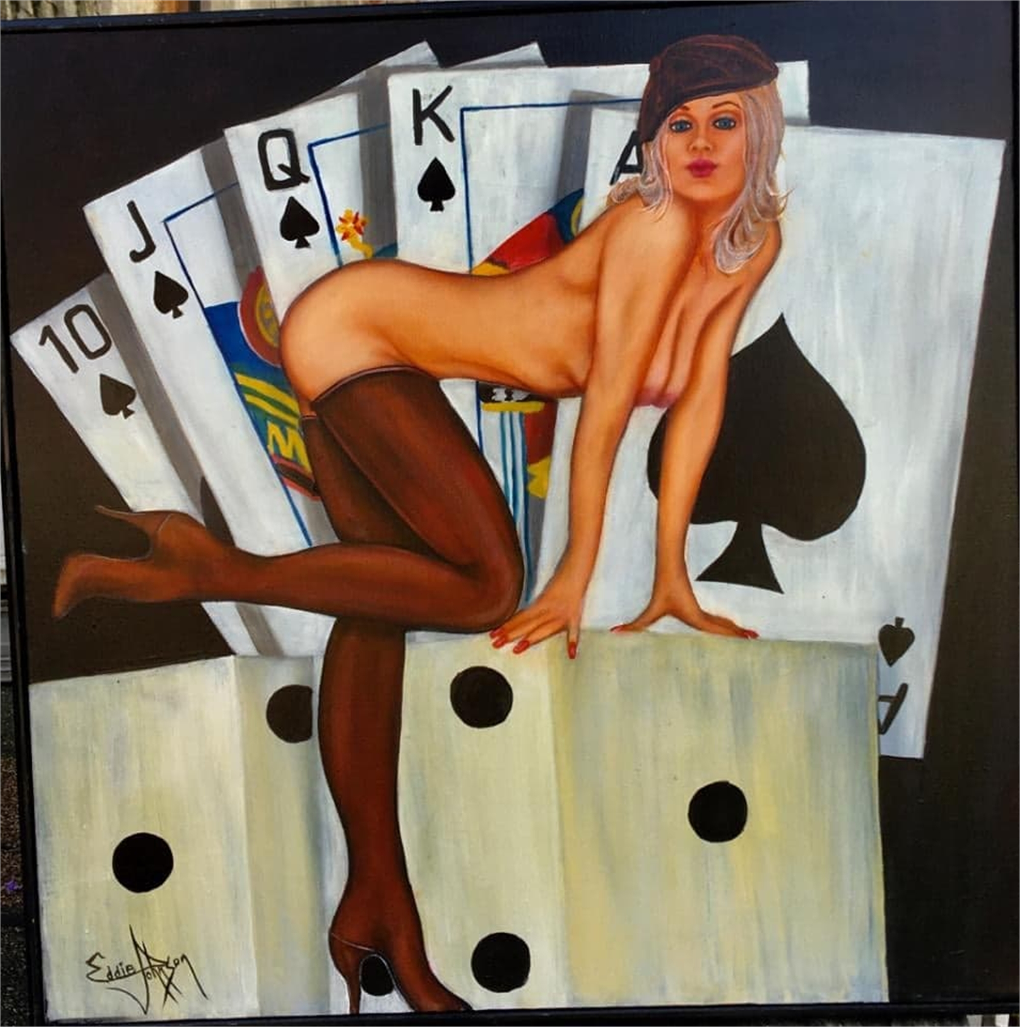 Lady Luck by Edwin Johnson (McMinnville, OR)