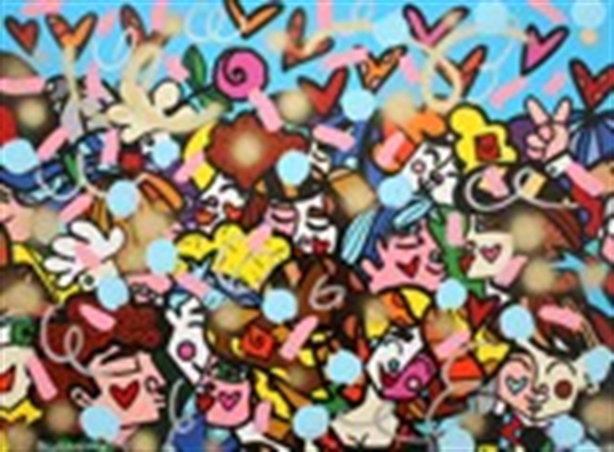 EVERYBODY by Romero Britto