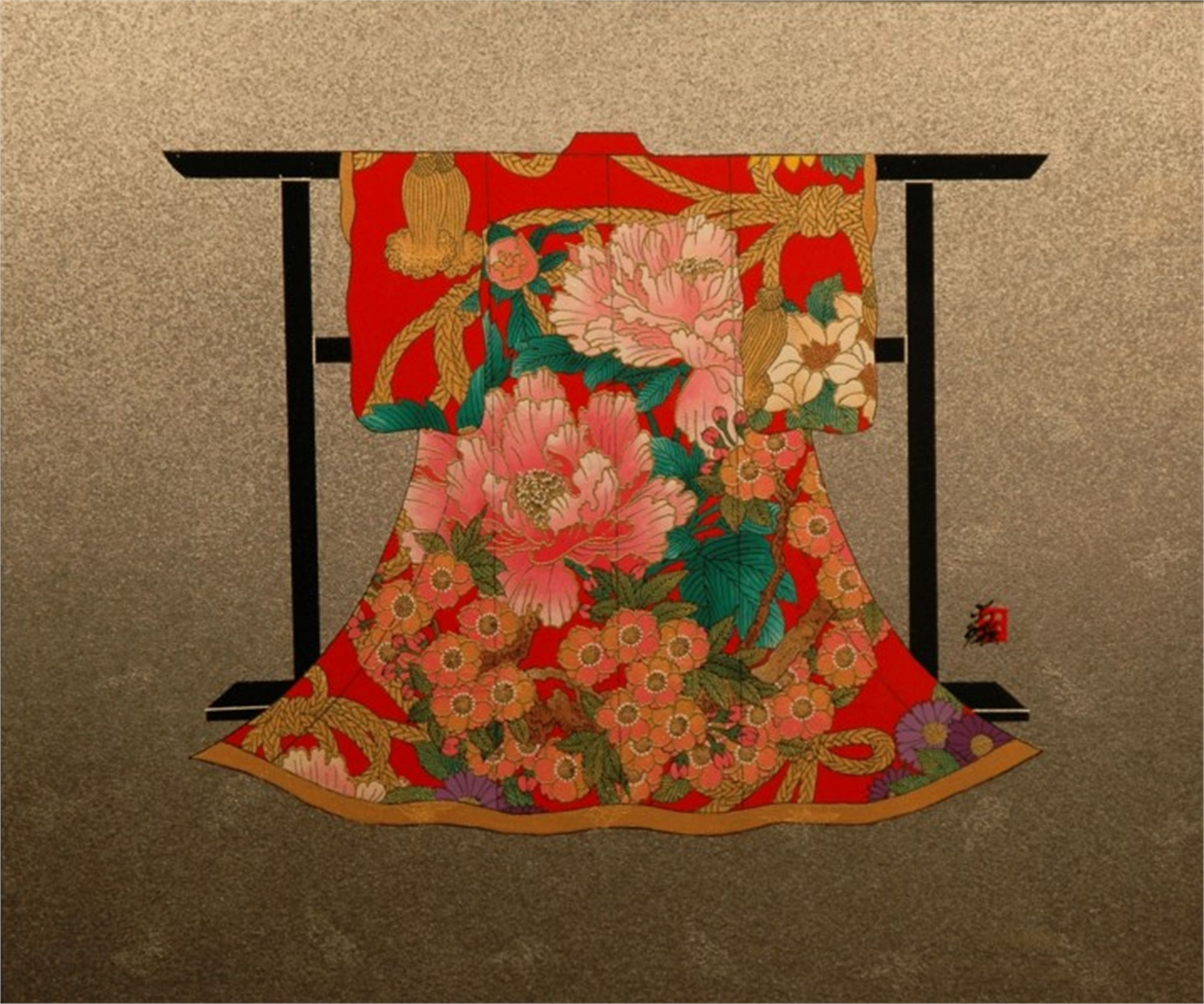 Spring Kimono by Hisashi Otsuka