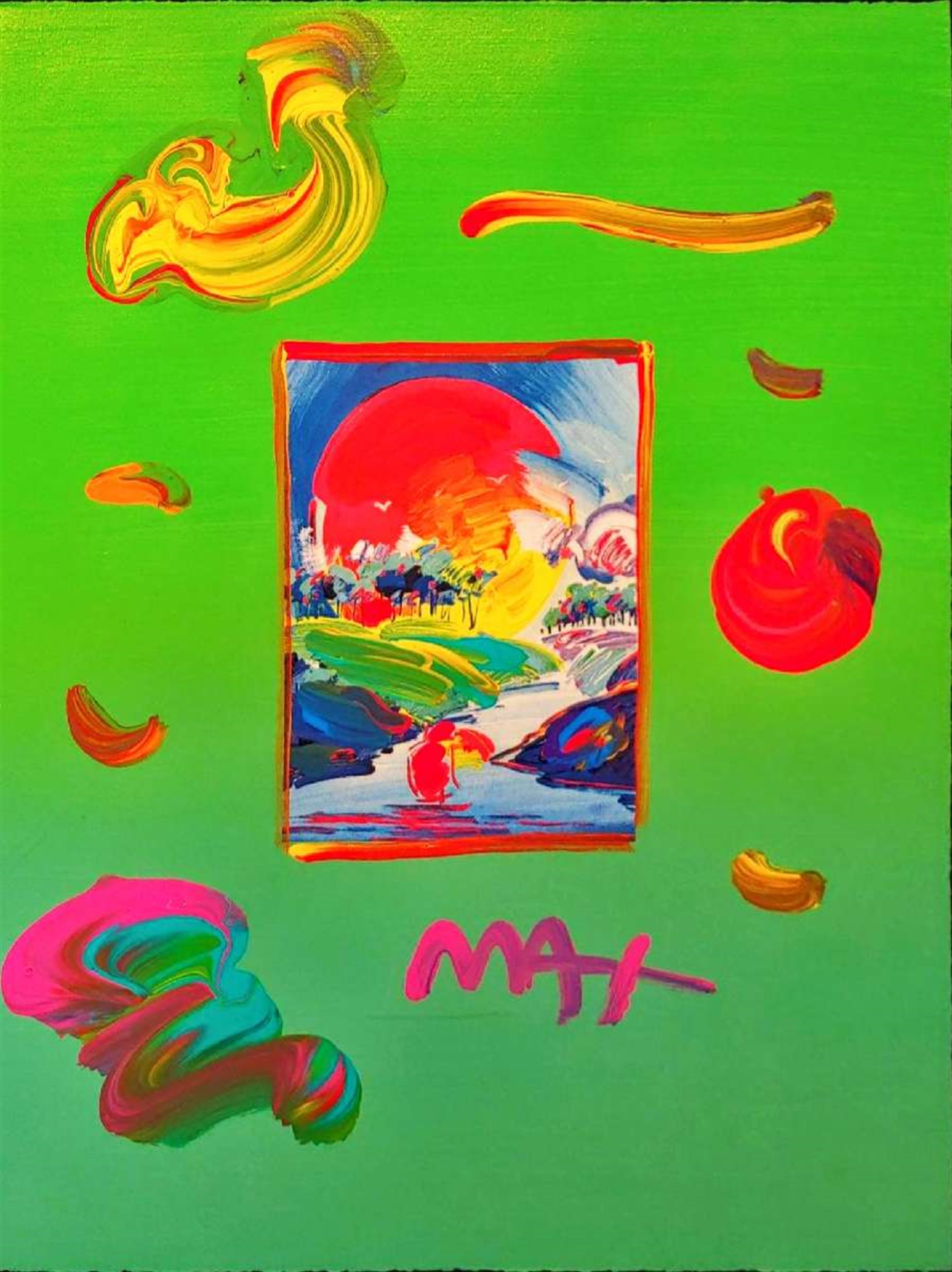 WITHOUT BORDERS by Peter Max