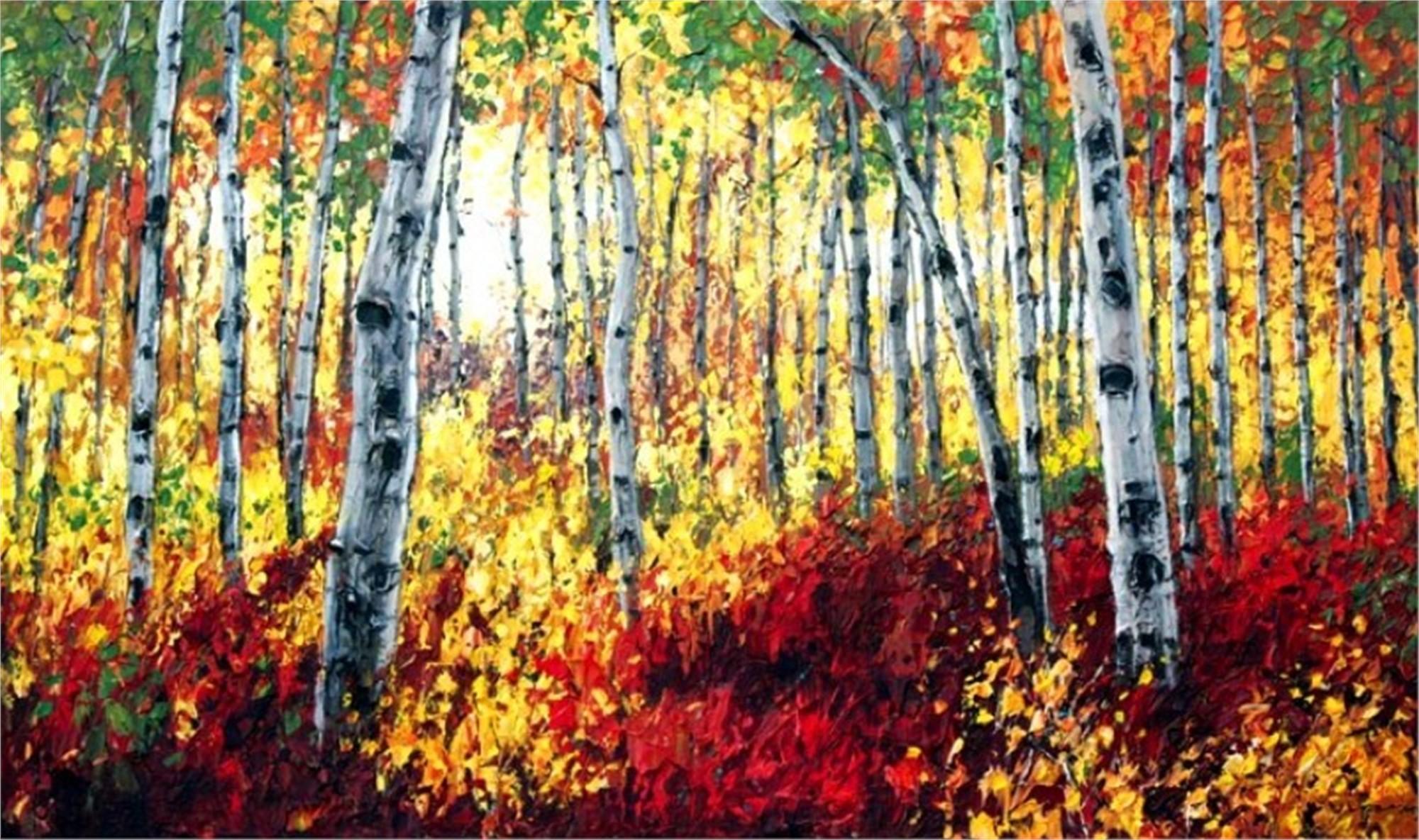 Sunlit Autumn by Jennifer Vranes