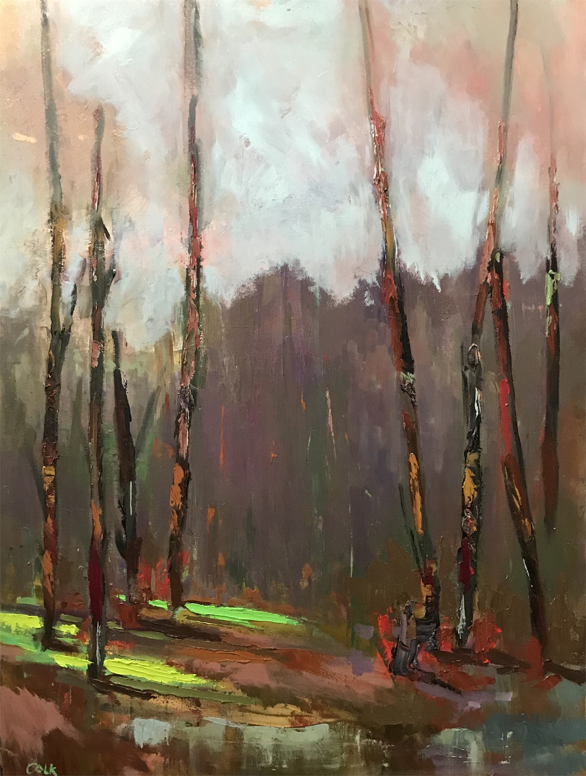 River Series I by James Calk