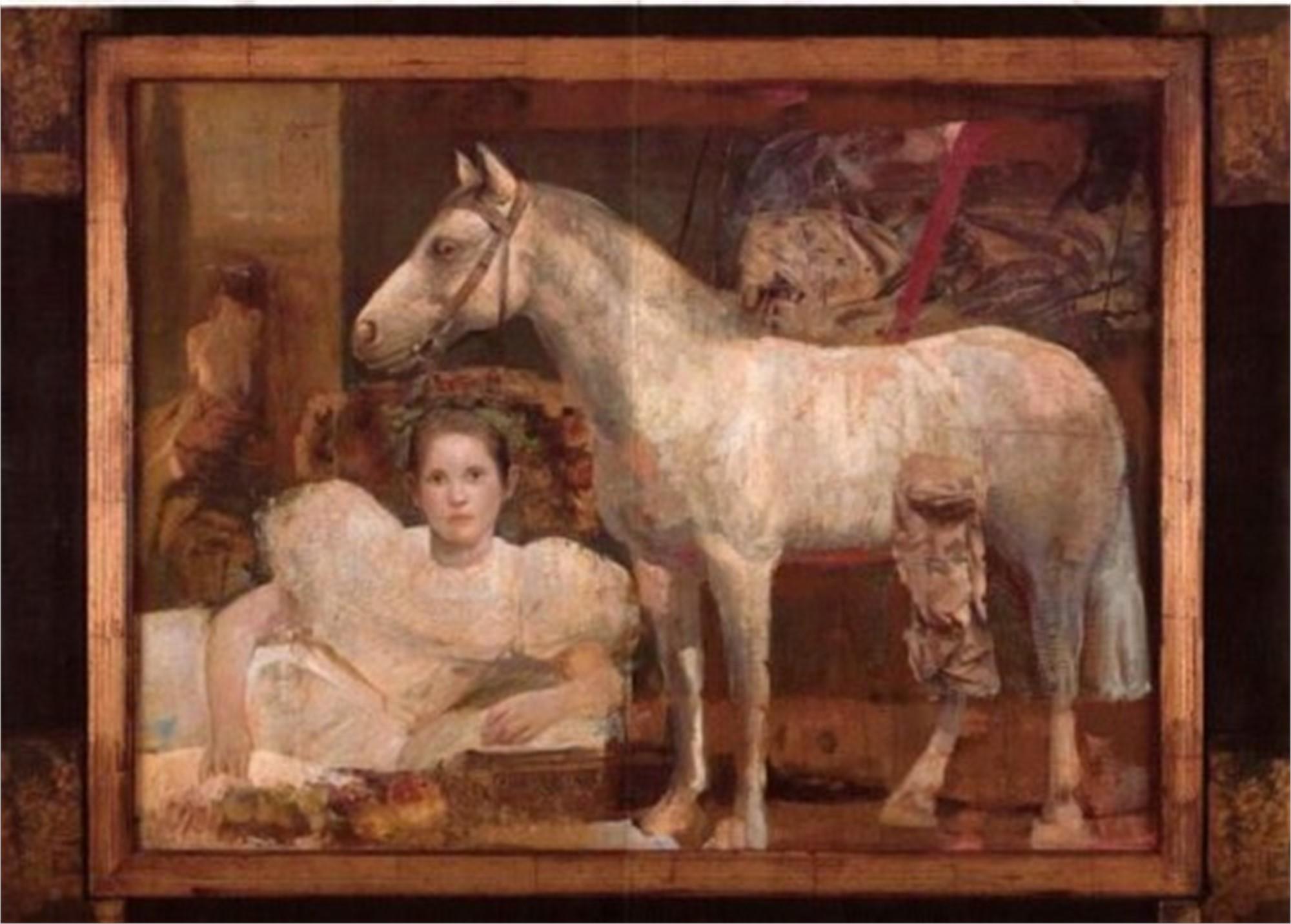 WHITE HORSE by BERBER