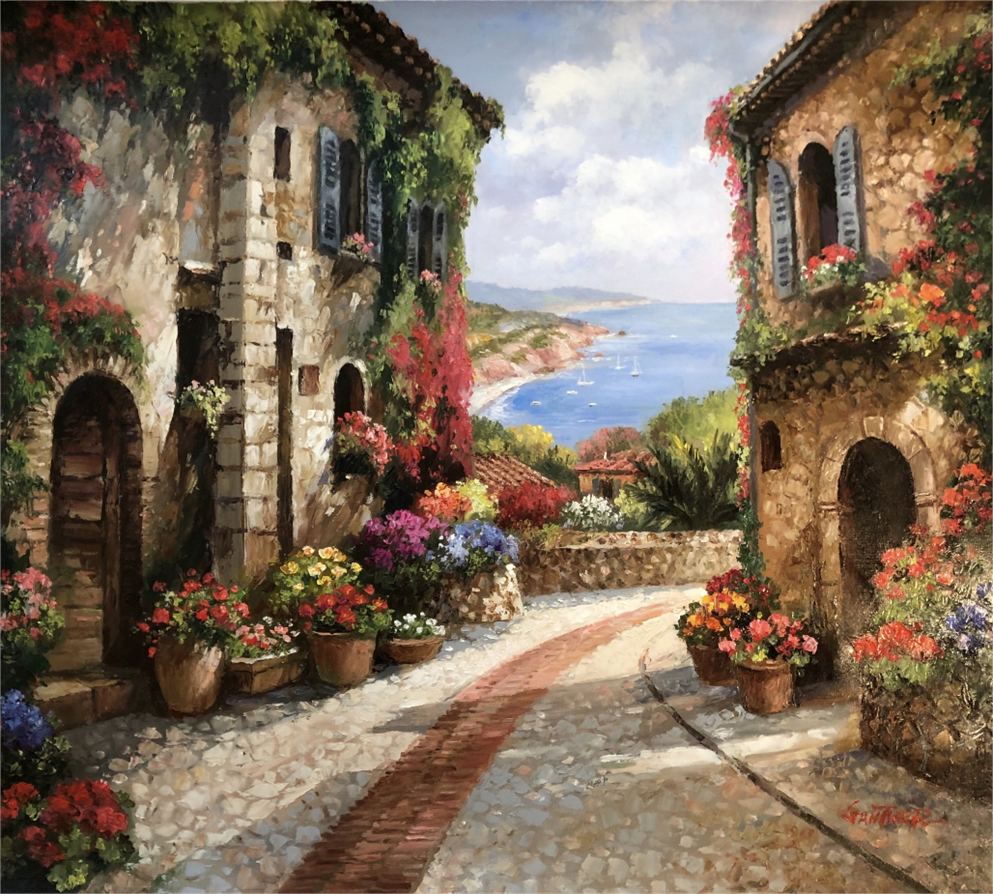 Pathway of Provence by GANTNER
