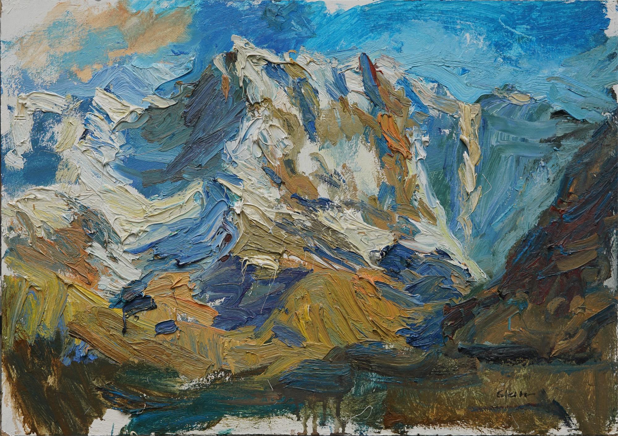 At Sunrise near Mt Elbrus by Ulrich Gleiter