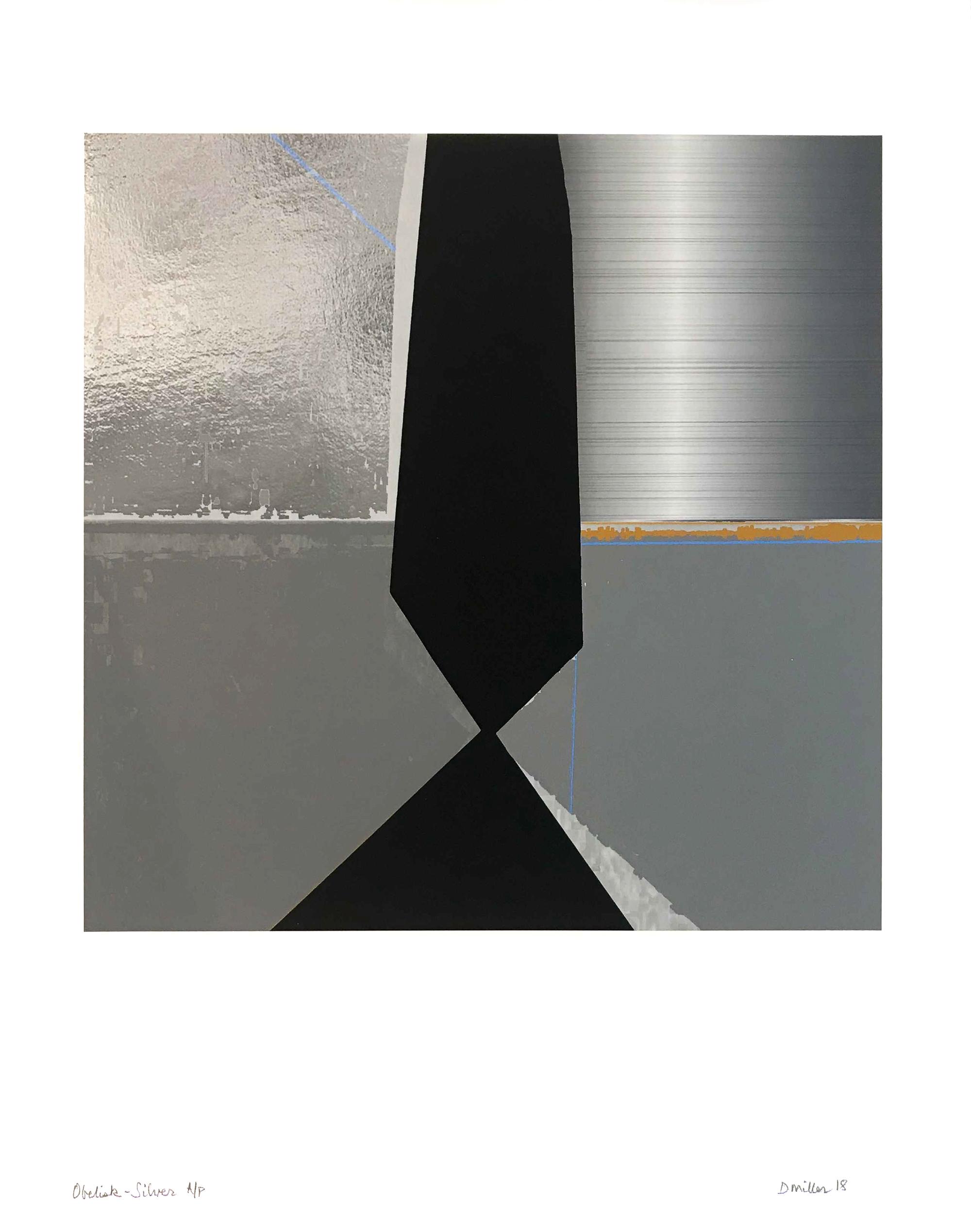 Obelisk- Silver by David Miller