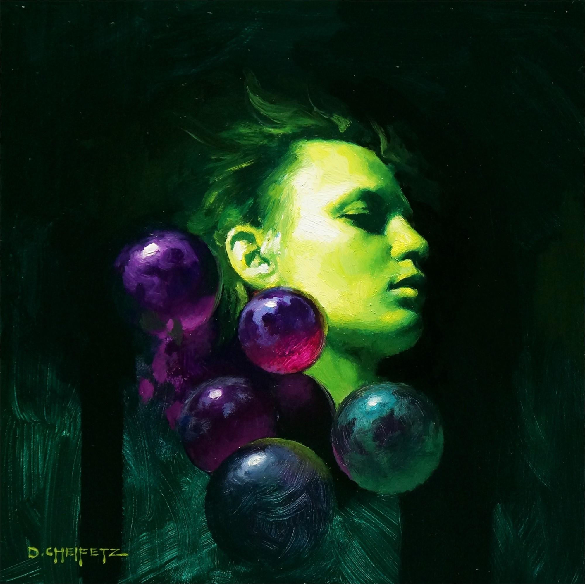Grape Head by David Cheifetz
