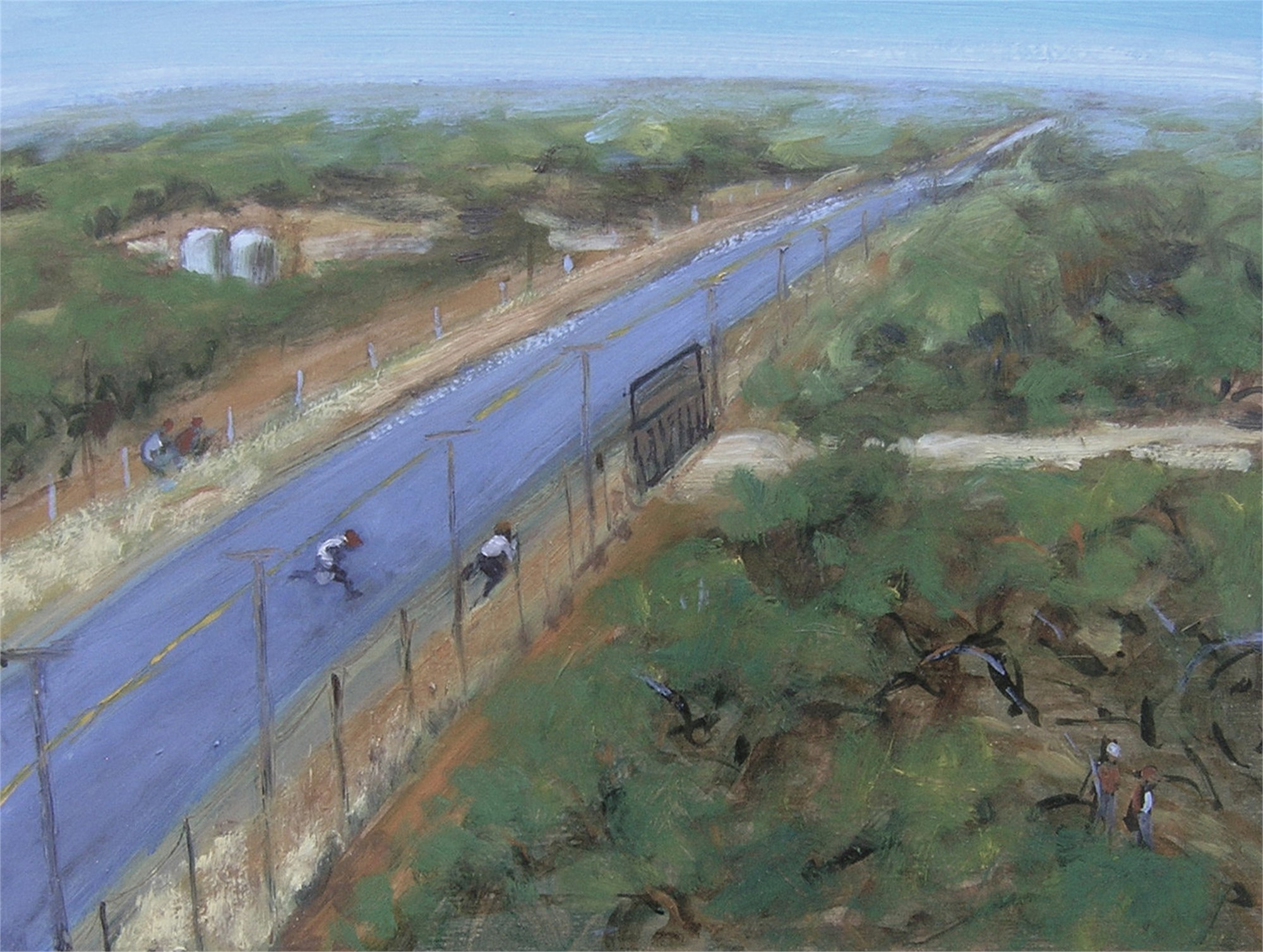 South Texas Perspective #3 by Janet Eager Krueger