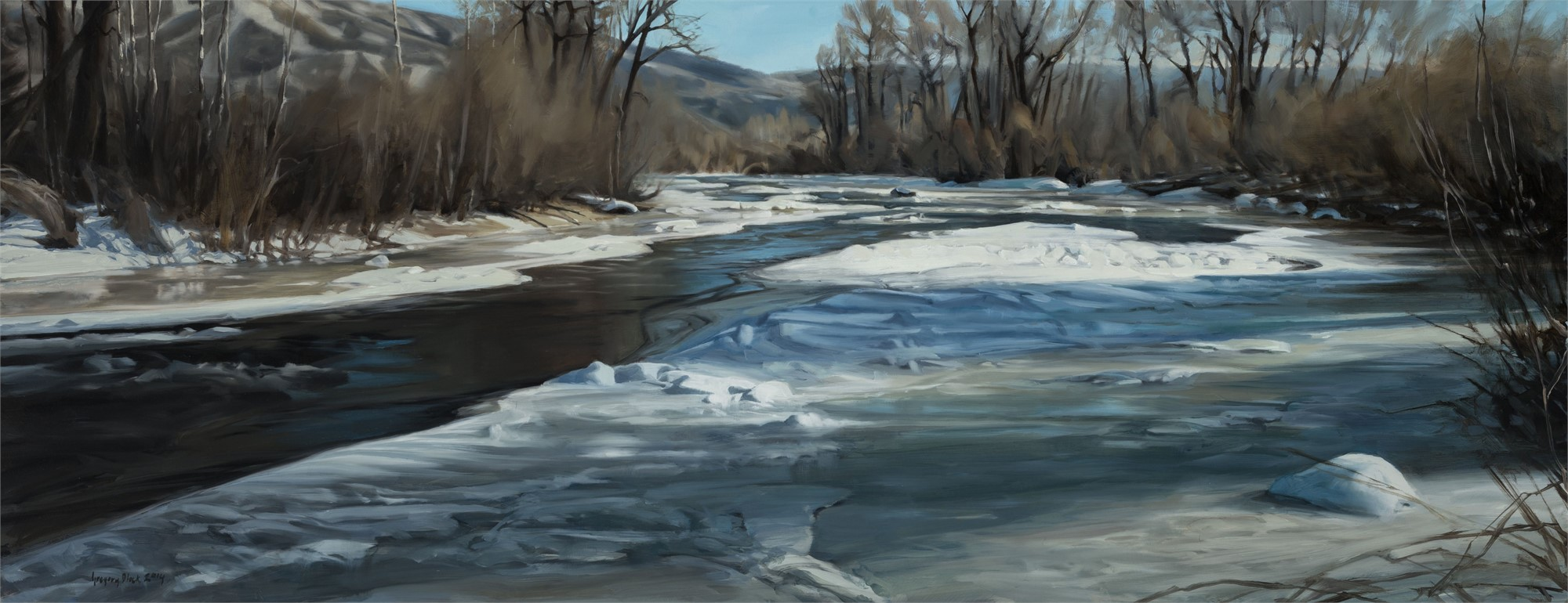 Yampa River Early Spring by Gregory Block