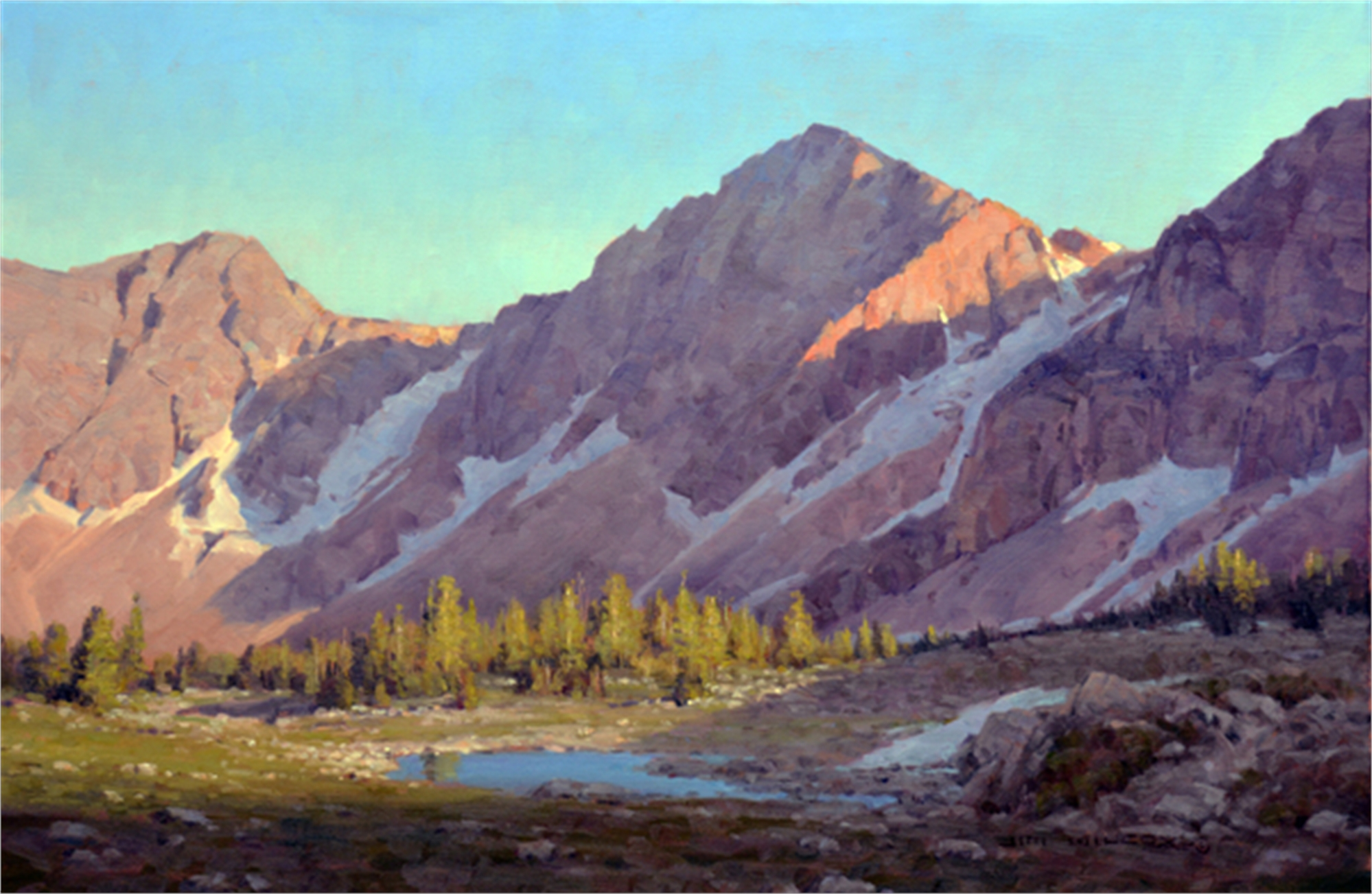 Paintbrush Divide by Jim Wilcox