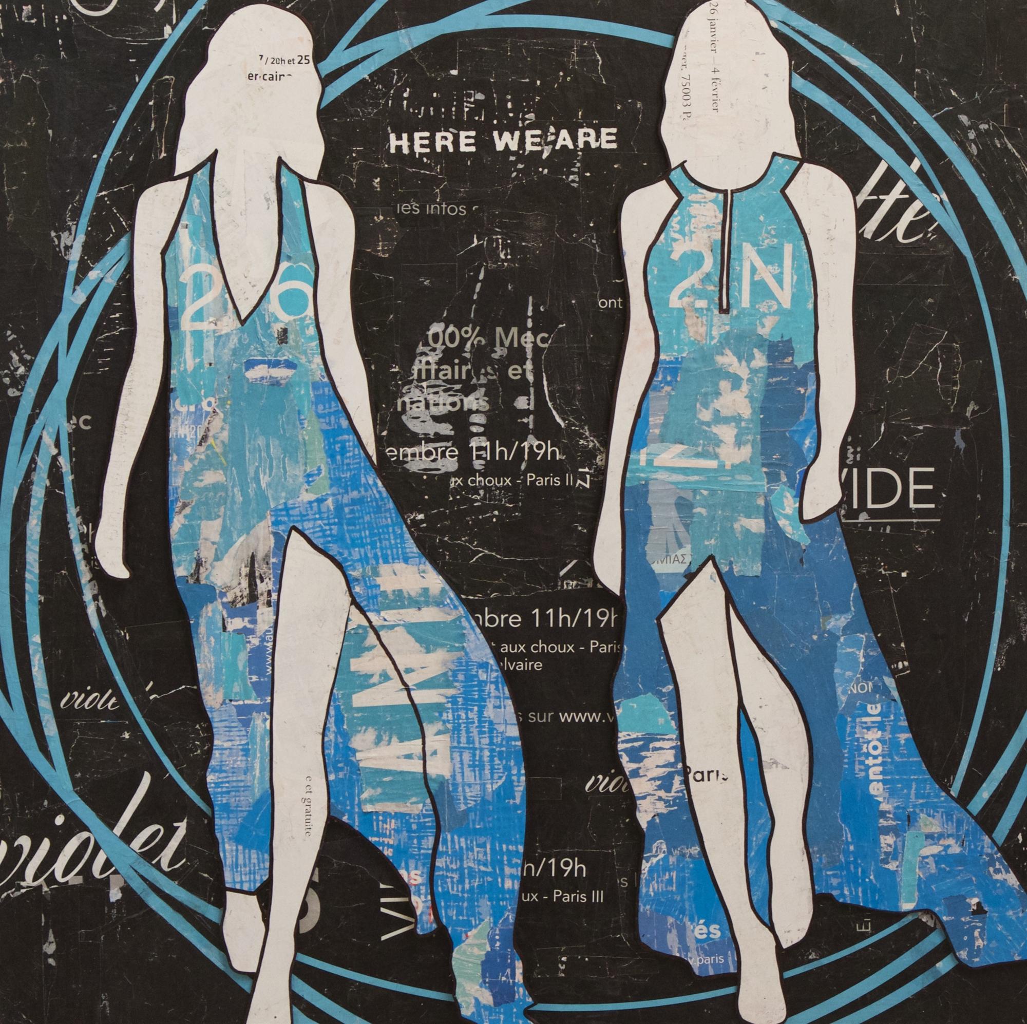 Blue Circles by Jane Maxwell