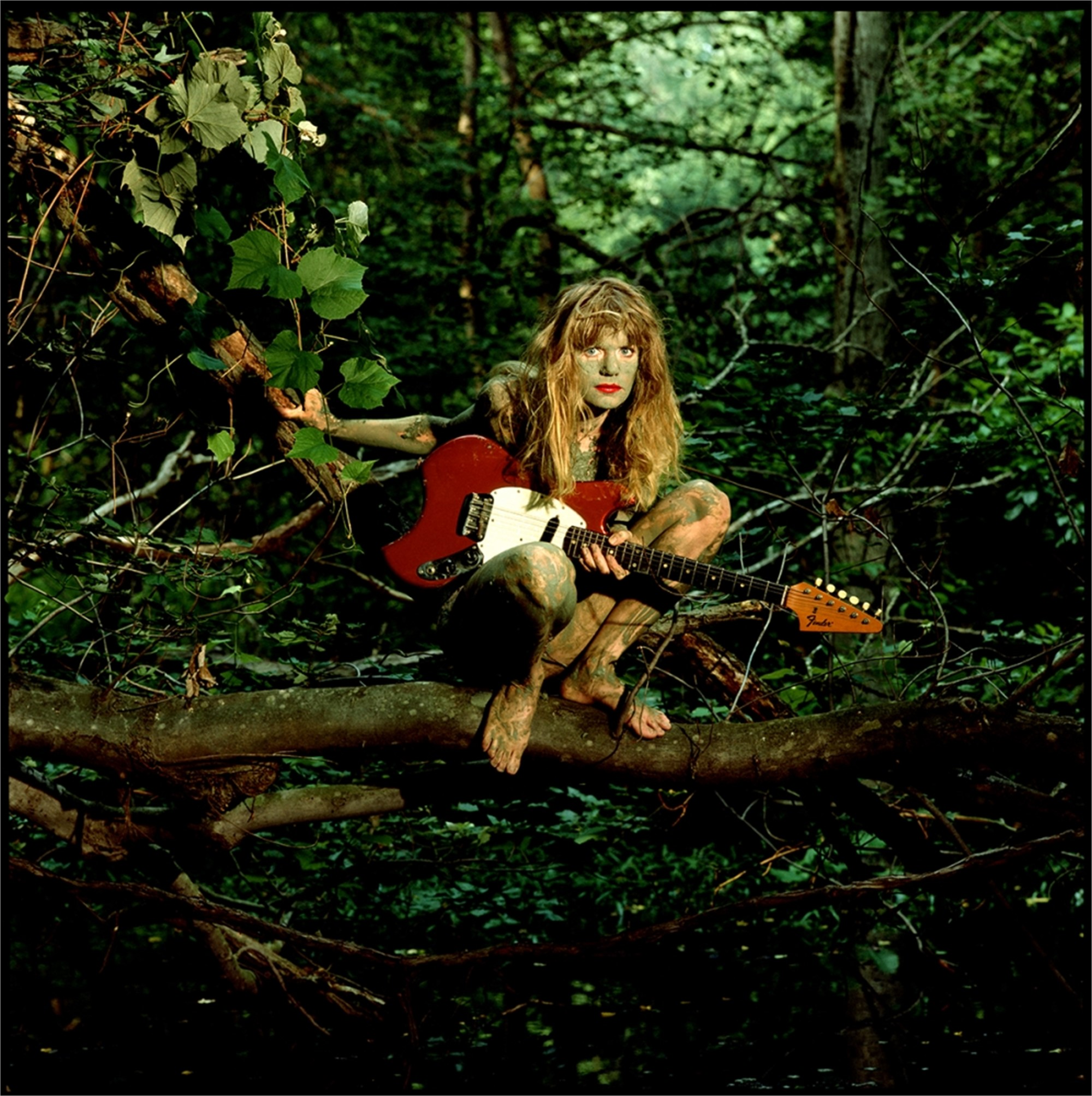 88128 Tina Weymouth Painted Face Color by Timothy White