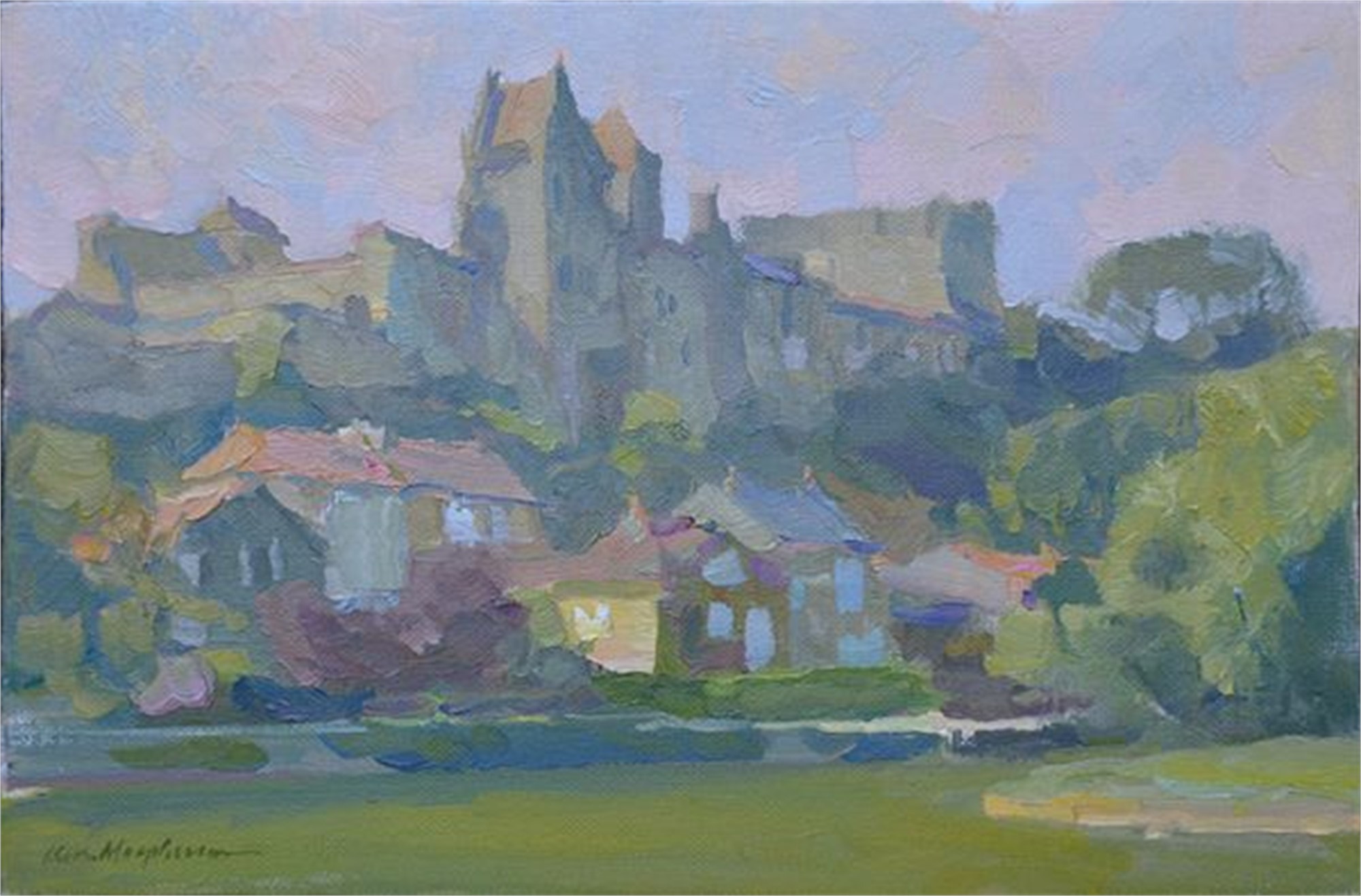 Castle Ruins by Kevin Macpherson