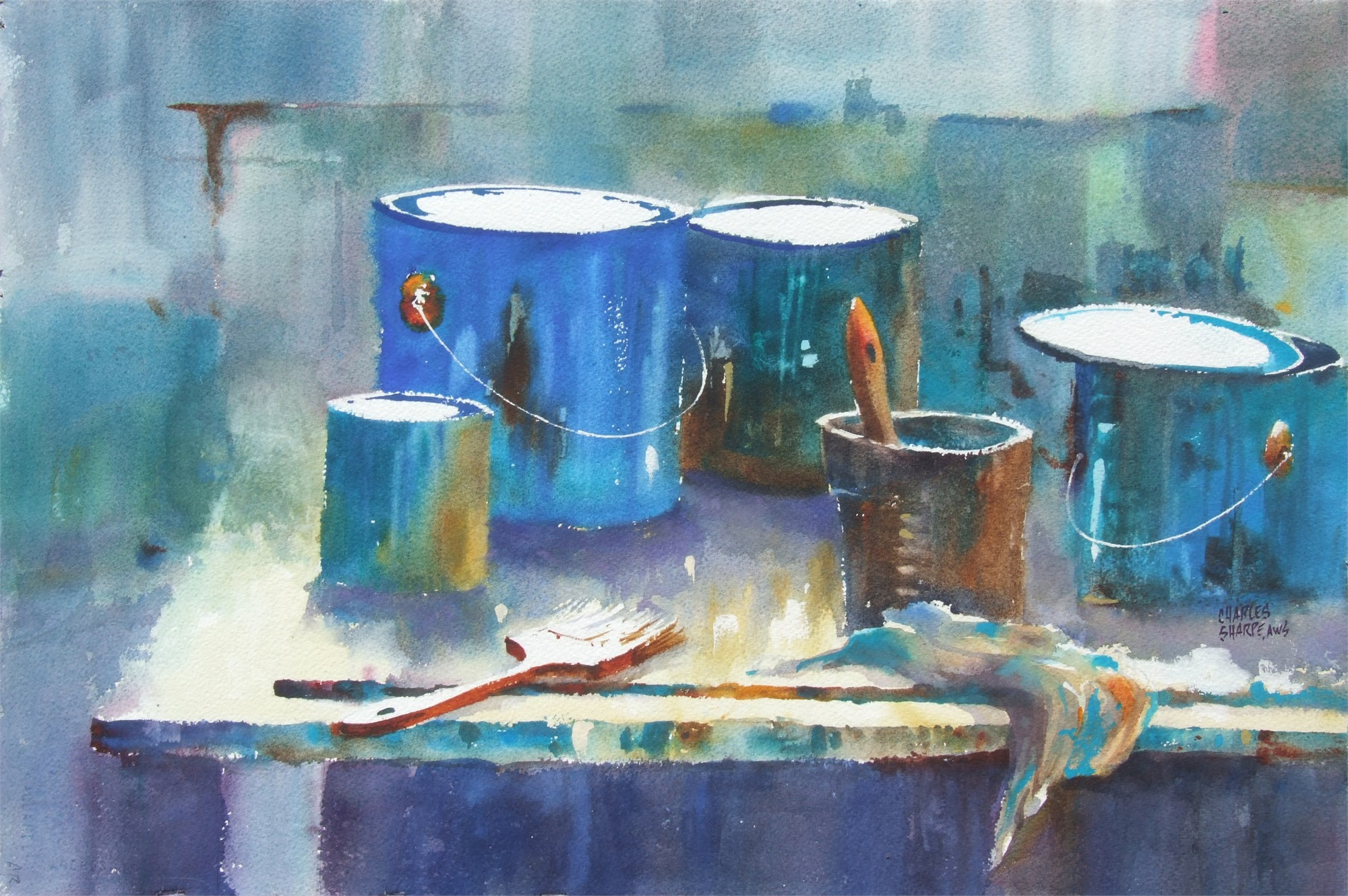 Paintin' the Blues by Charles Sharpe