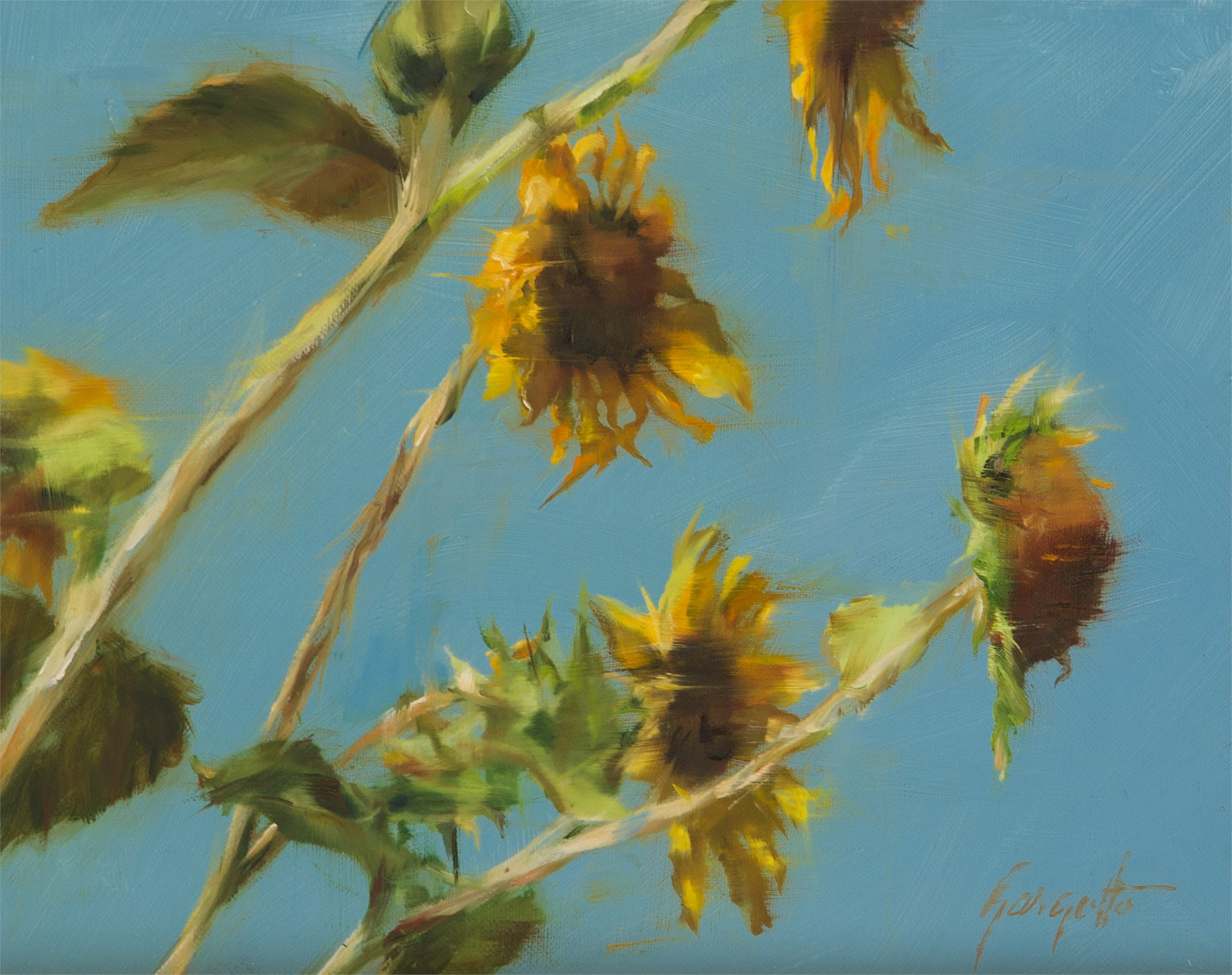 In the Breeze Study #2 by Ann Gargotto