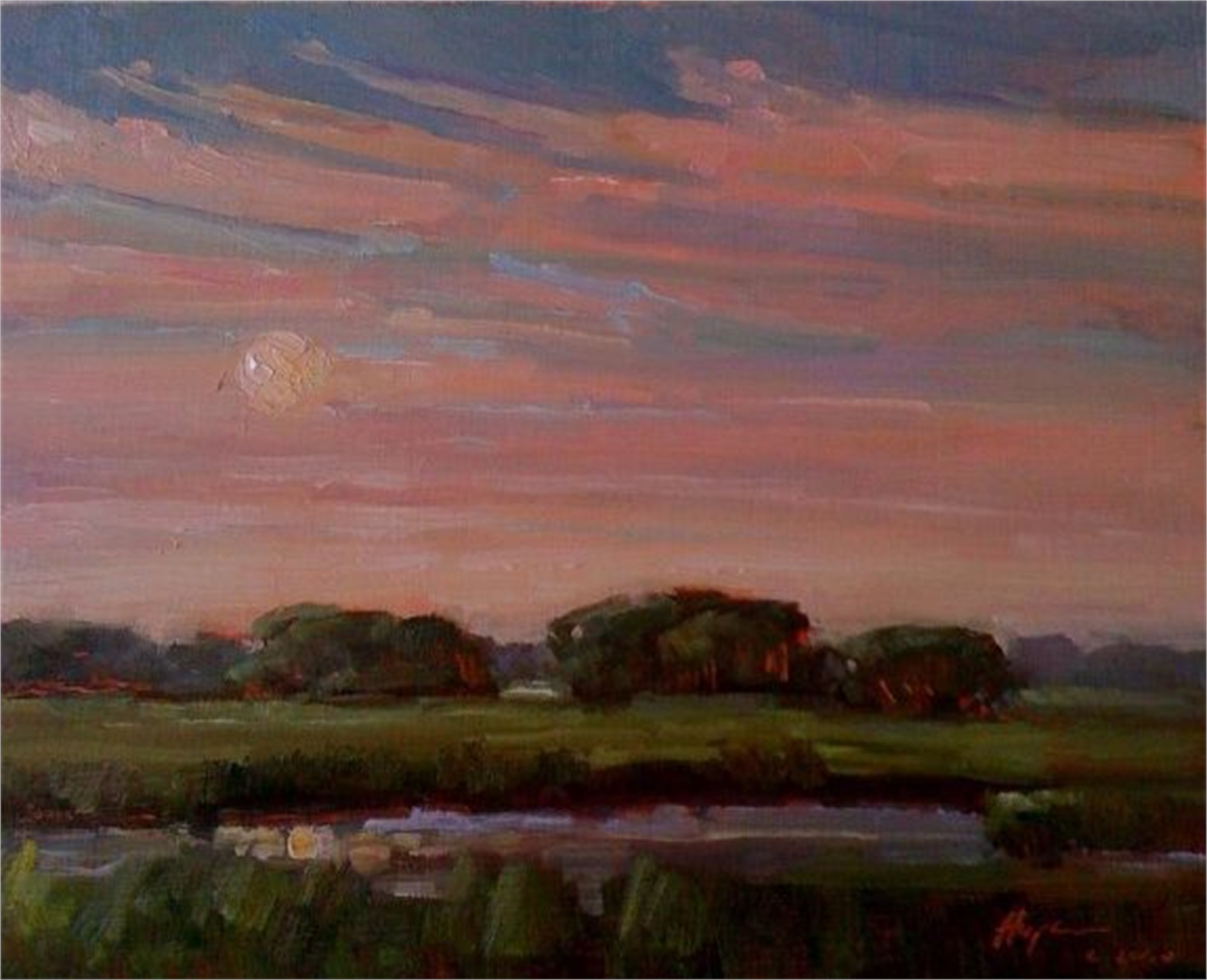 Evening Falls by Karen Hewitt Hagan