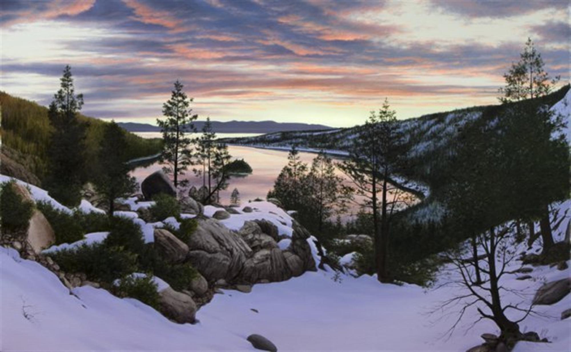Emerald Bay Sunrise by Alexander Volkov