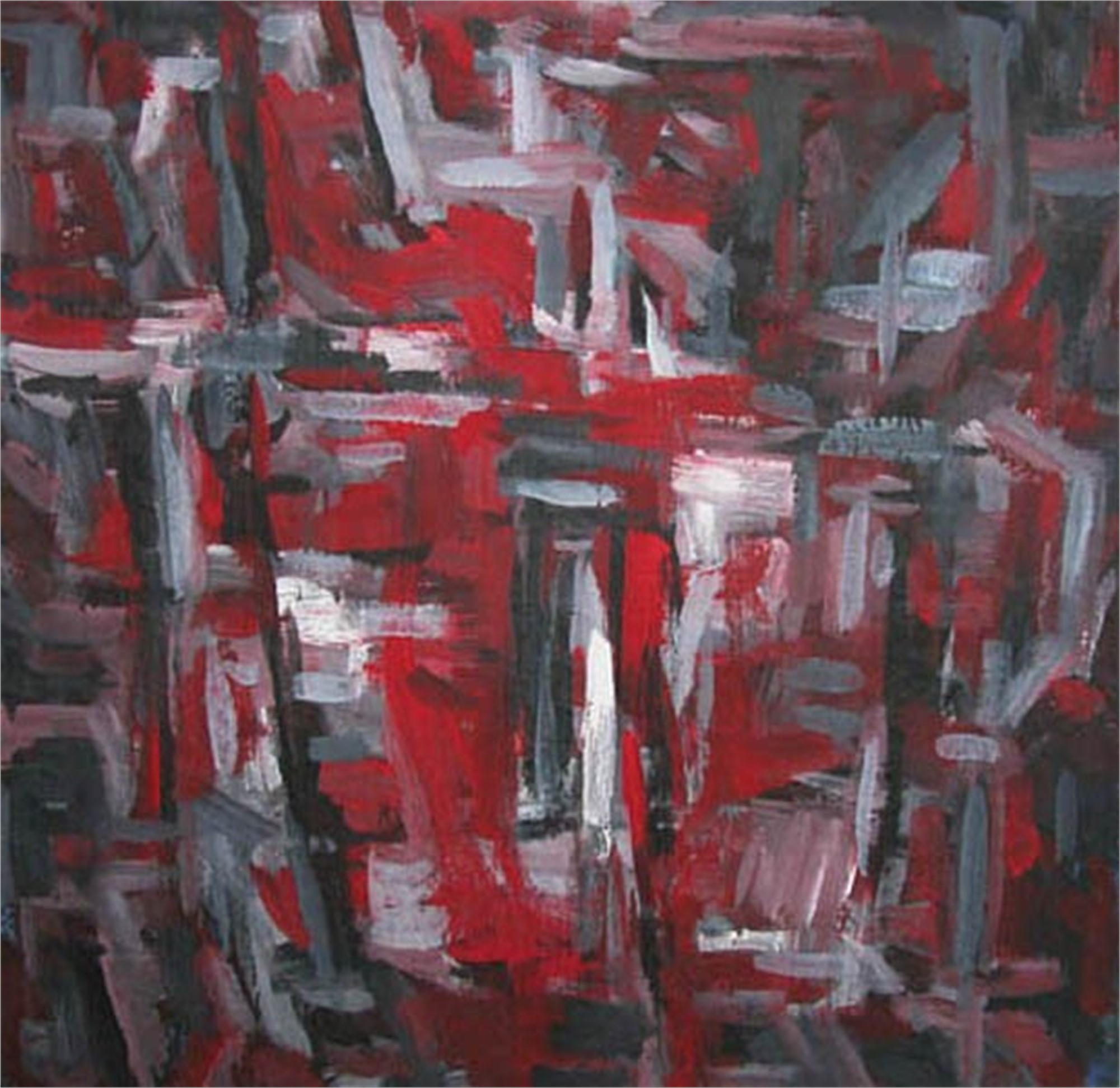 A Splash of Red by Contemporary Chinese Art