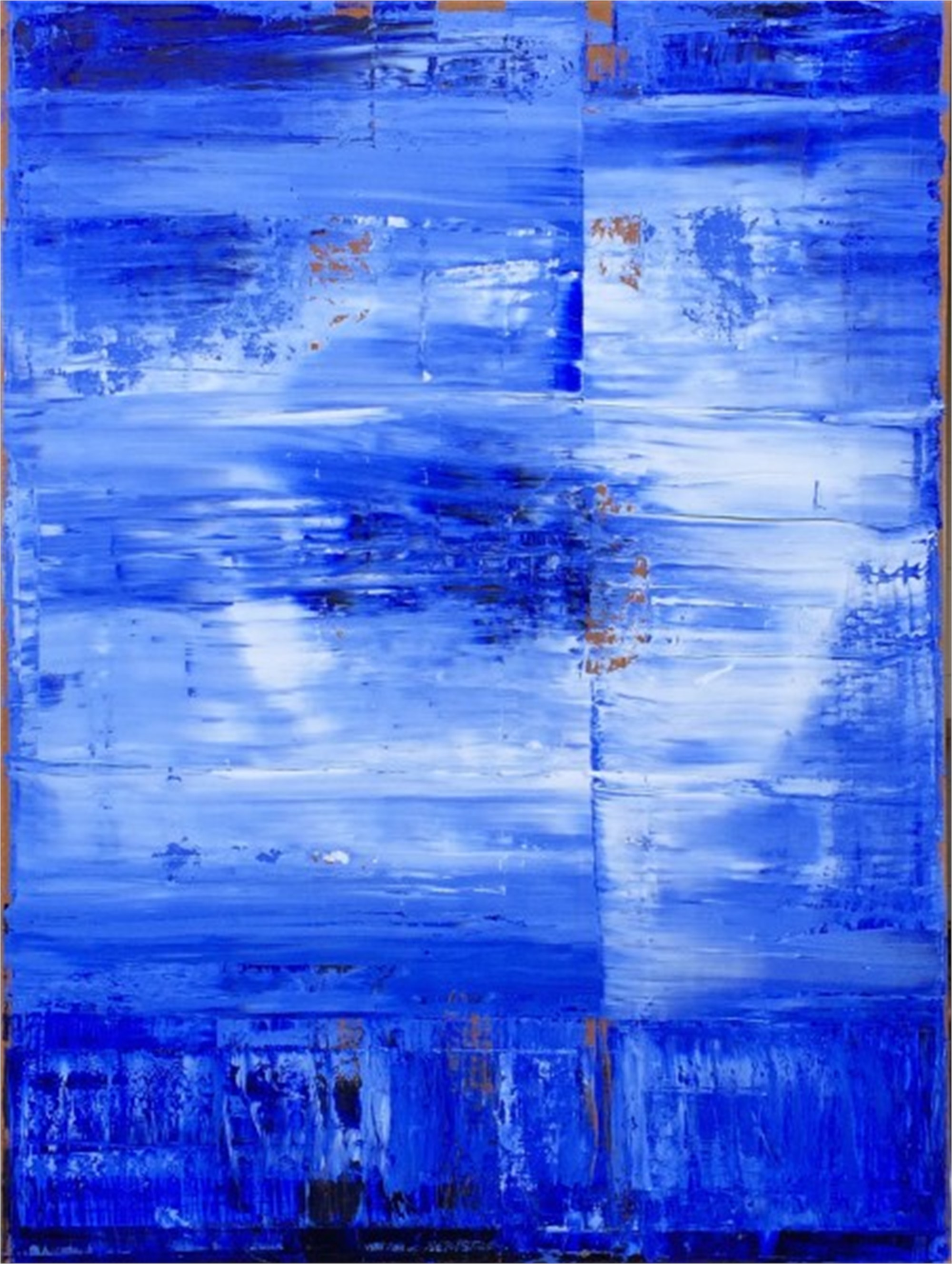 Blue-White No. 9 by William Song