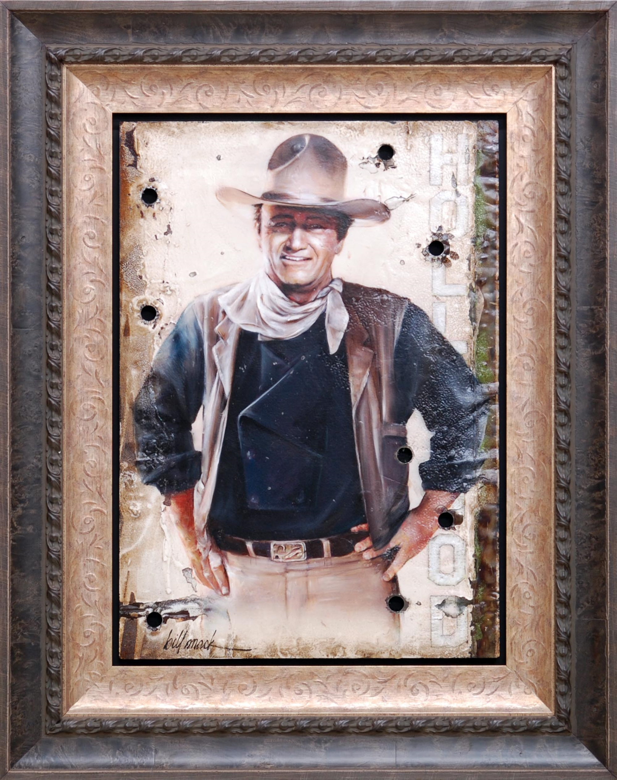 John Wayne by Bill Mack