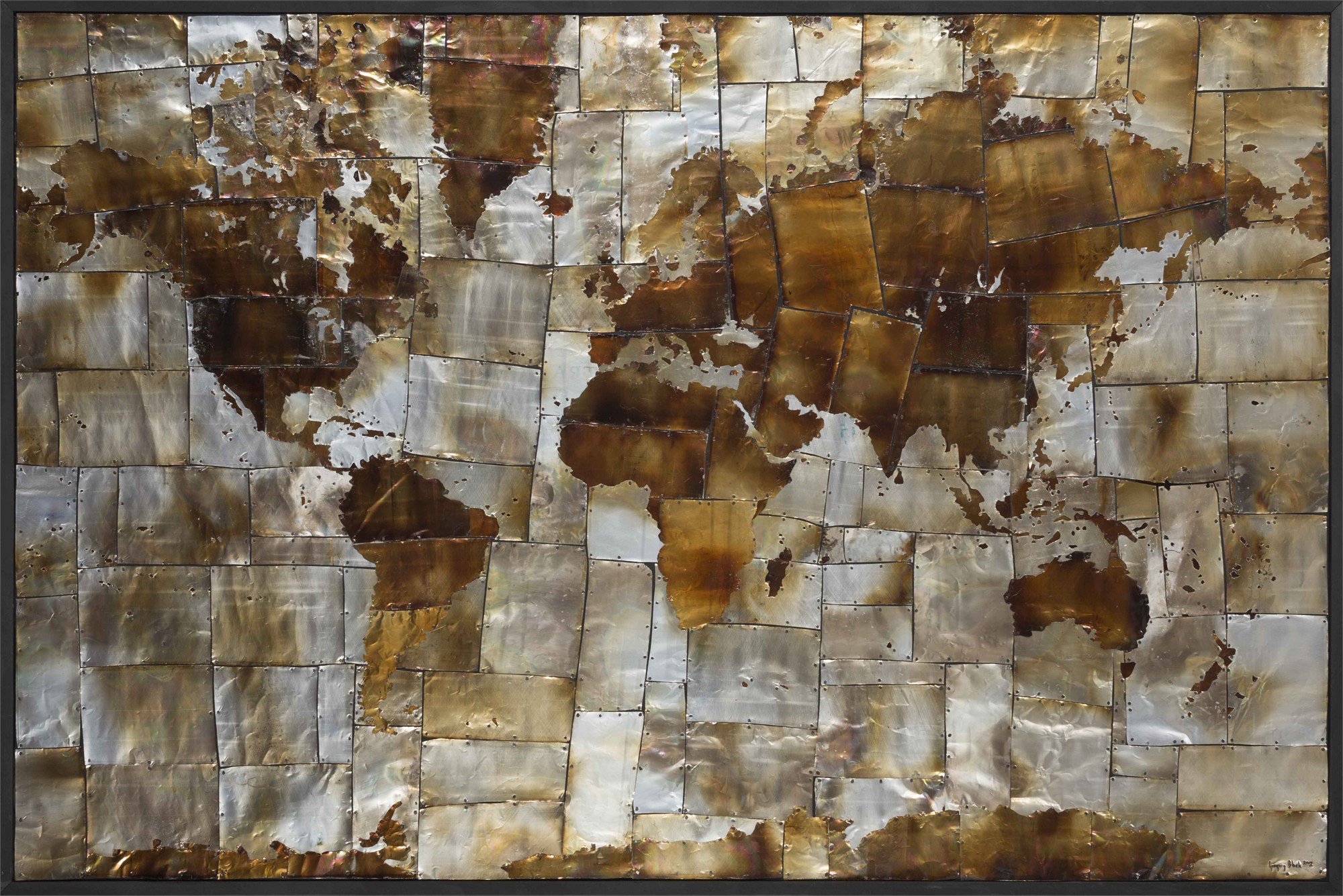 World Map by Gregory Block