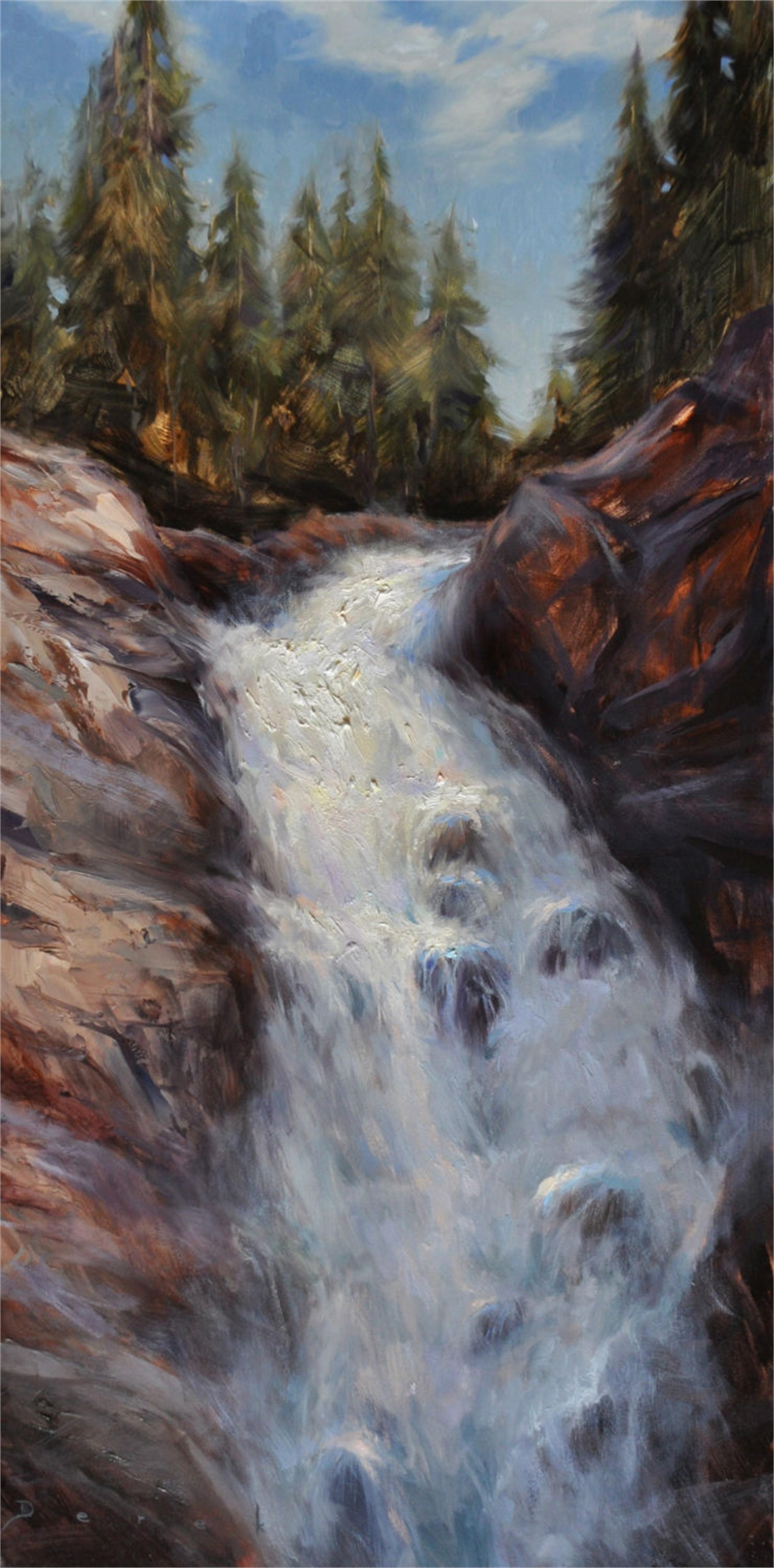 Fish Creek Falls by Derek Harrison