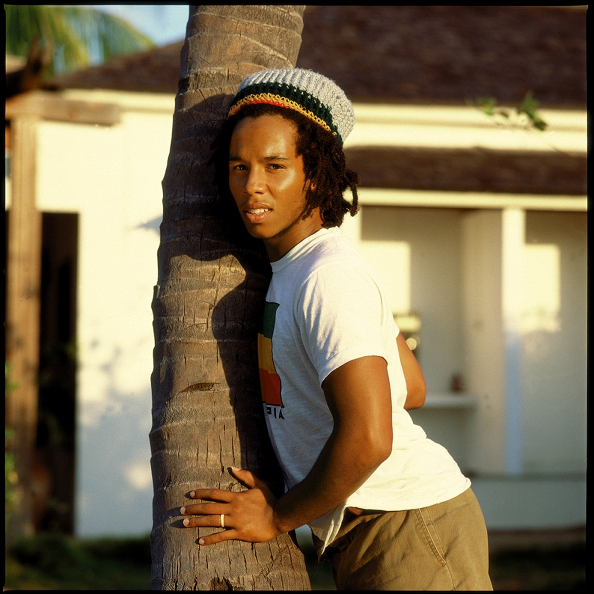 88011 Ziggy Marley On the Palm Tree 1988 Color by Timothy White
