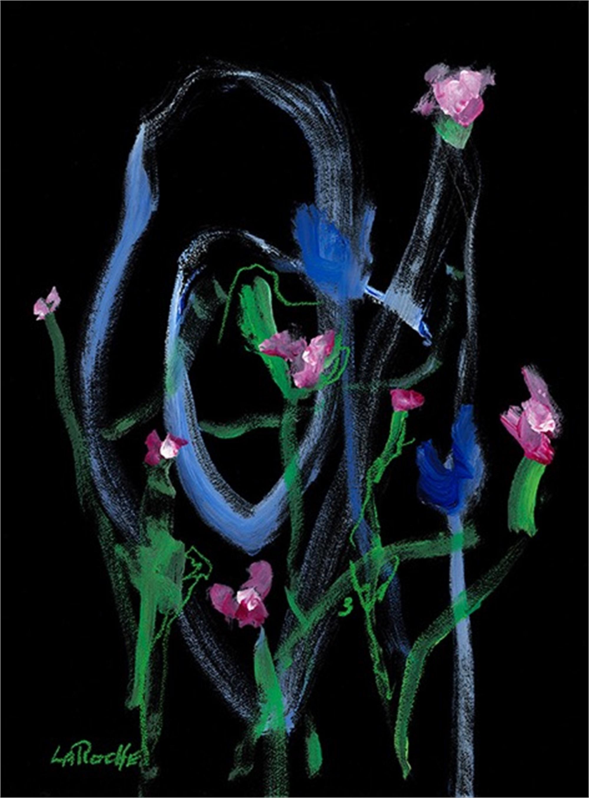 Floral Impressions #3 by Carole LaRoche