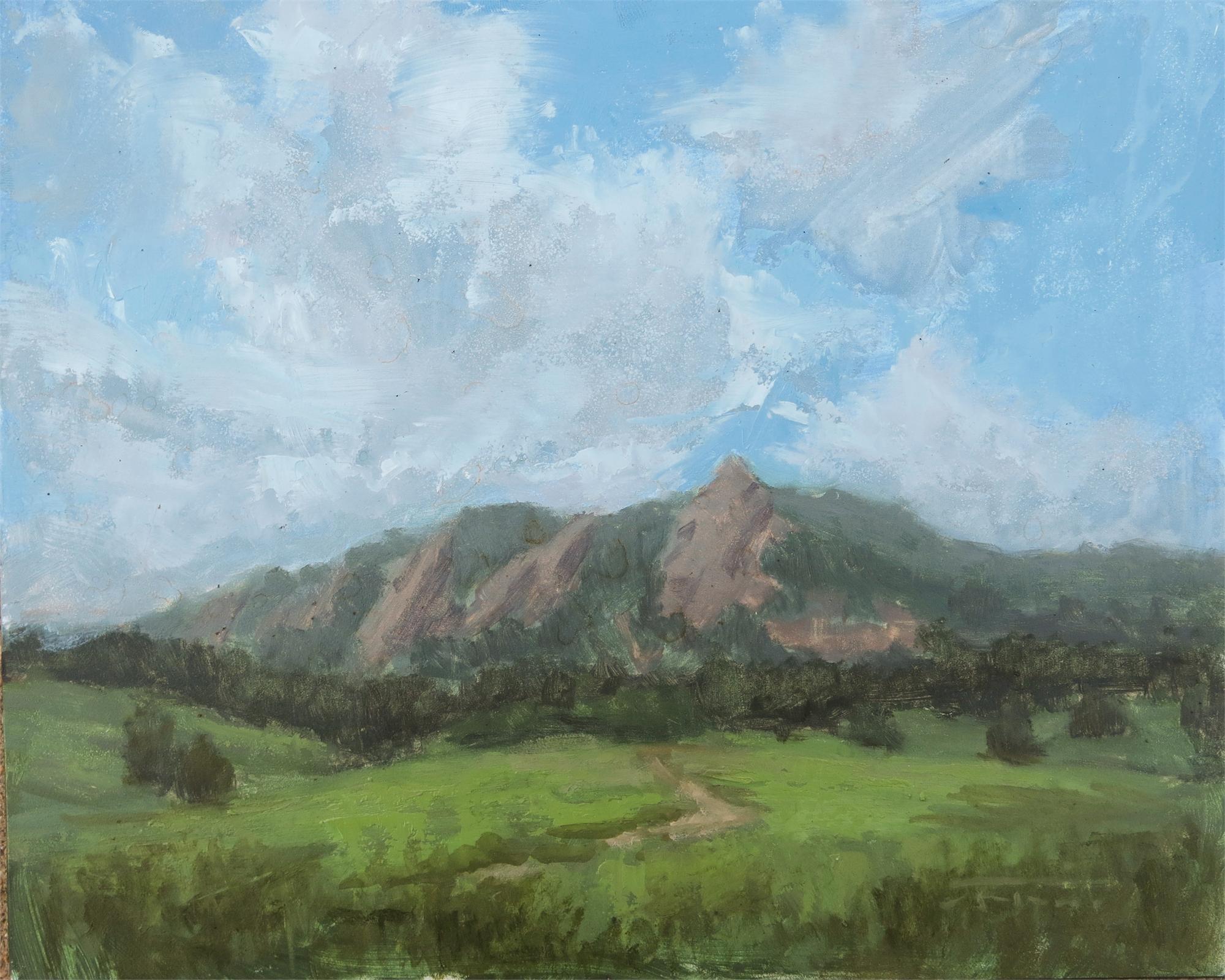 Clouds Over Boulder by Jane Hunt