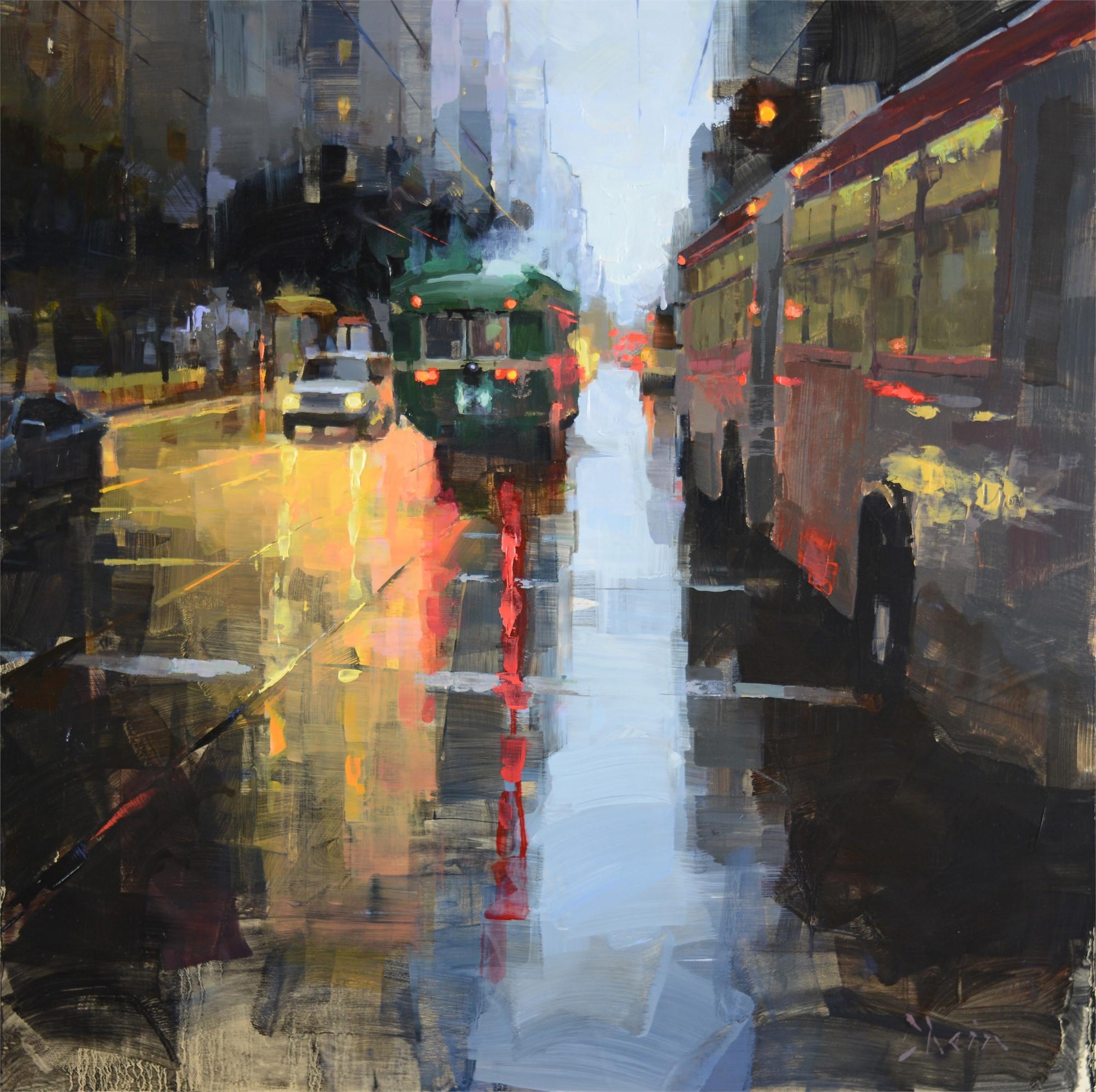 Market Street Traffic by Jacob Dhein