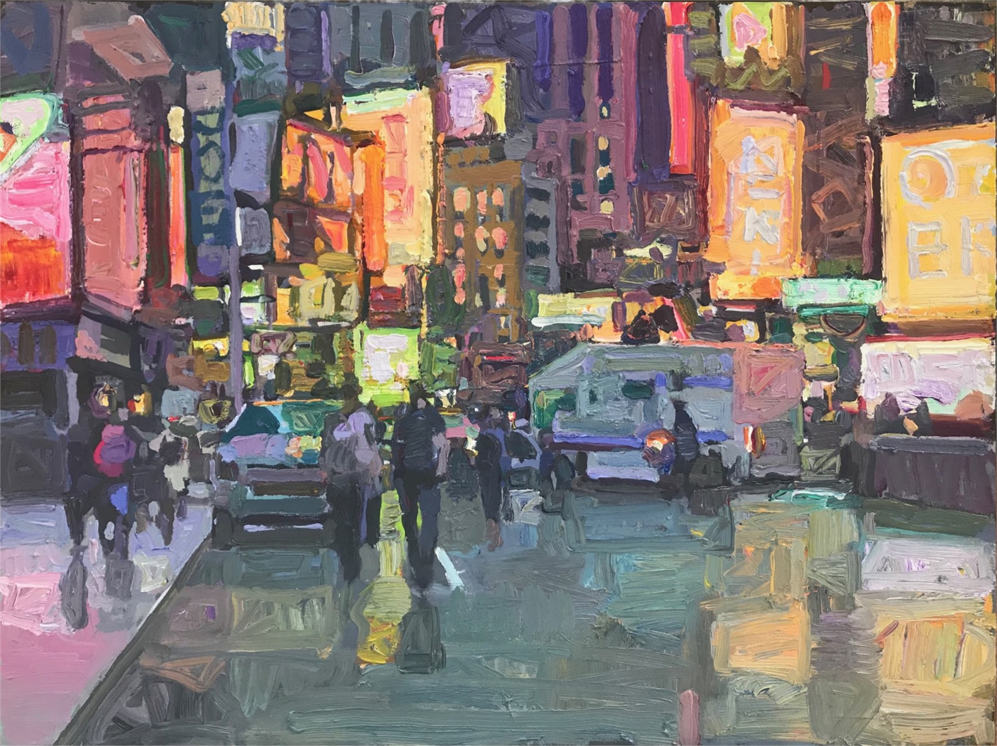 Times Square by Kevin Weckbach