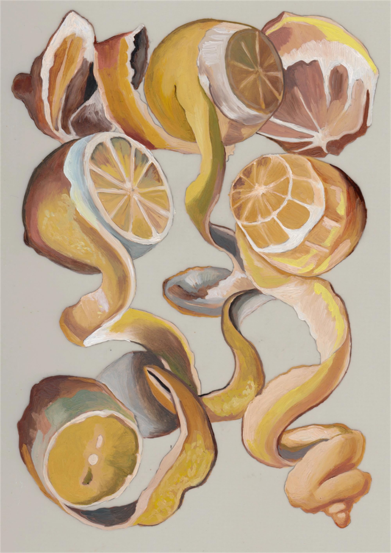 Life Lemons (framed) by Melissa Furness
