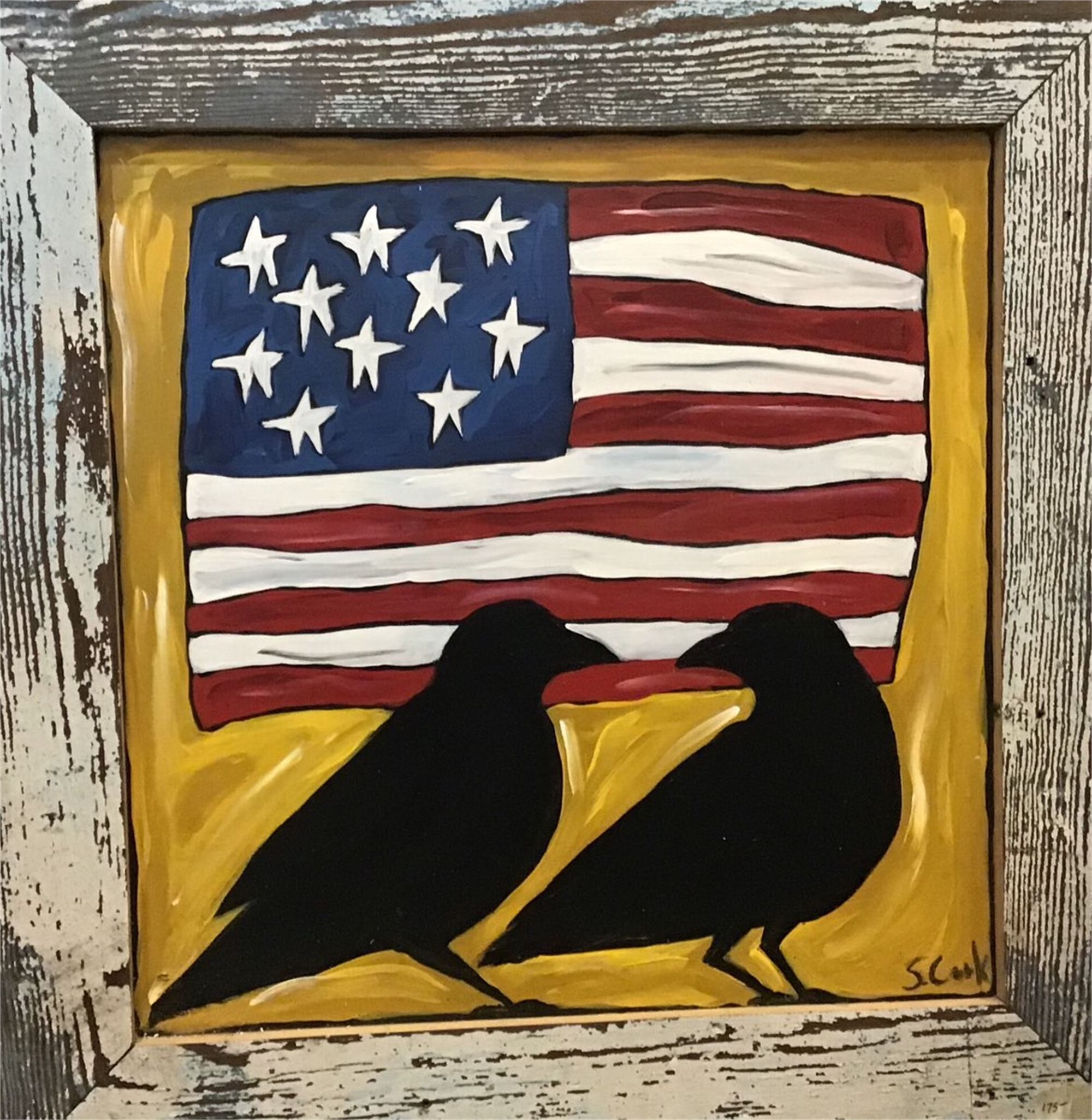 Flag Conversation by Sherry Cook
