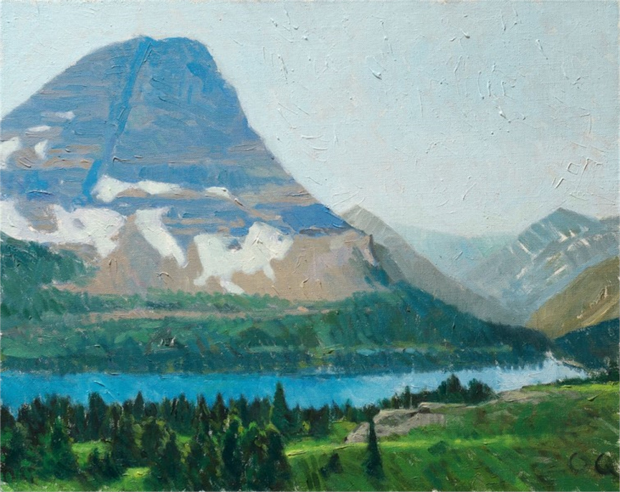 Bearhat Mountain by Ocean Quigley